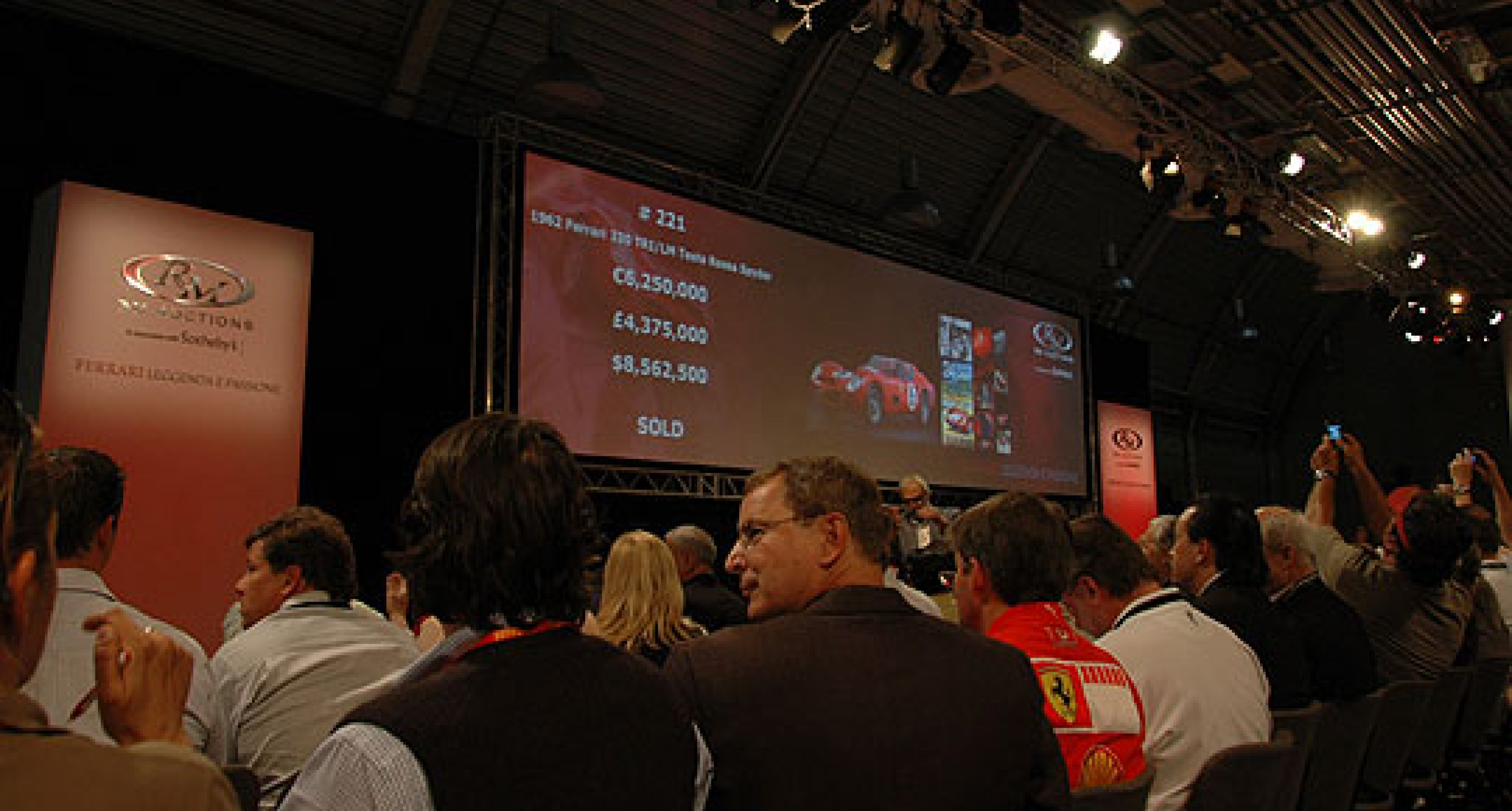 RM Auctions - Ferrari Leggenda e Passione 20th May 2007 - Review