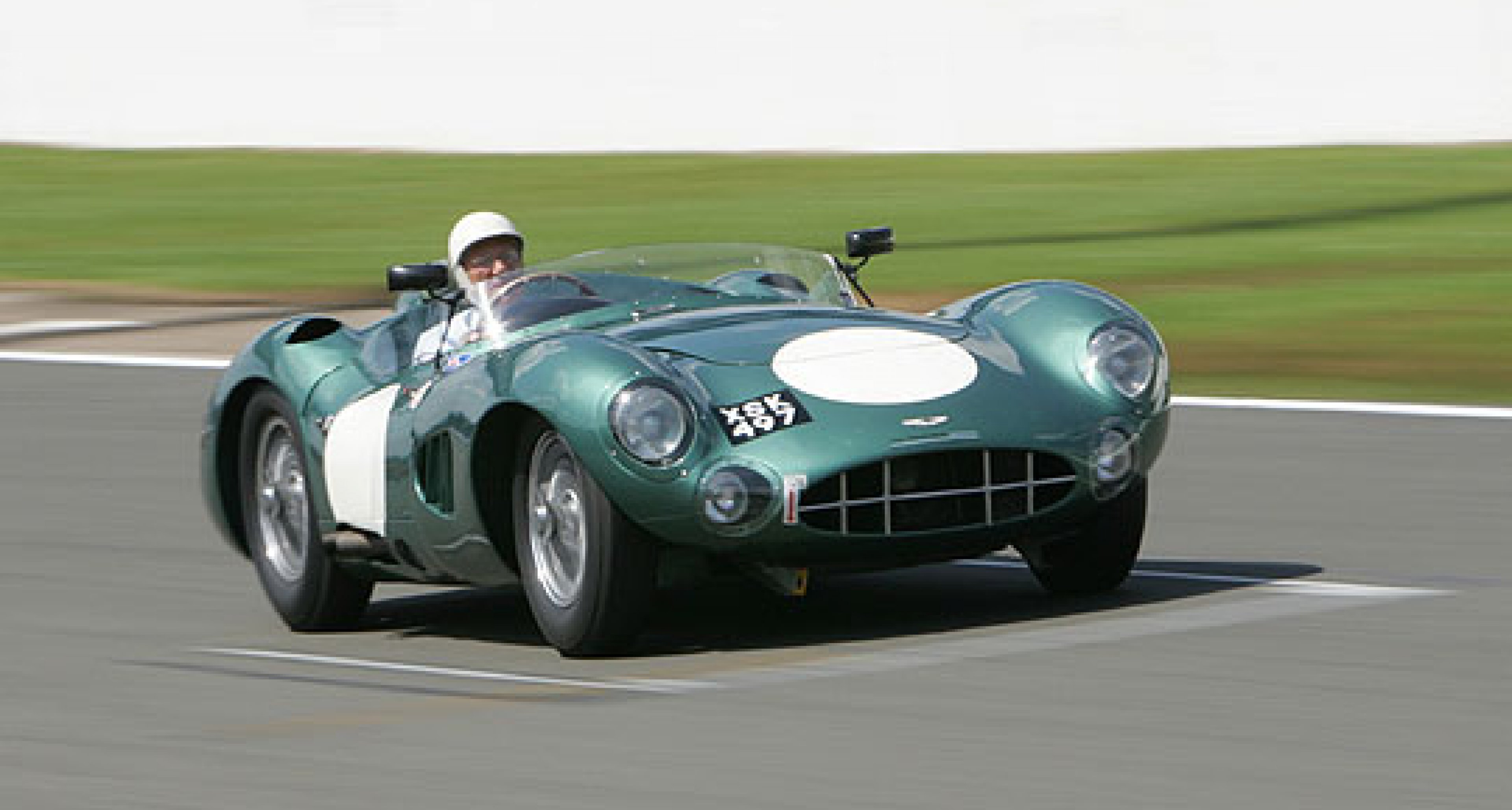 Le Mans Test for Sir Stirling Moss