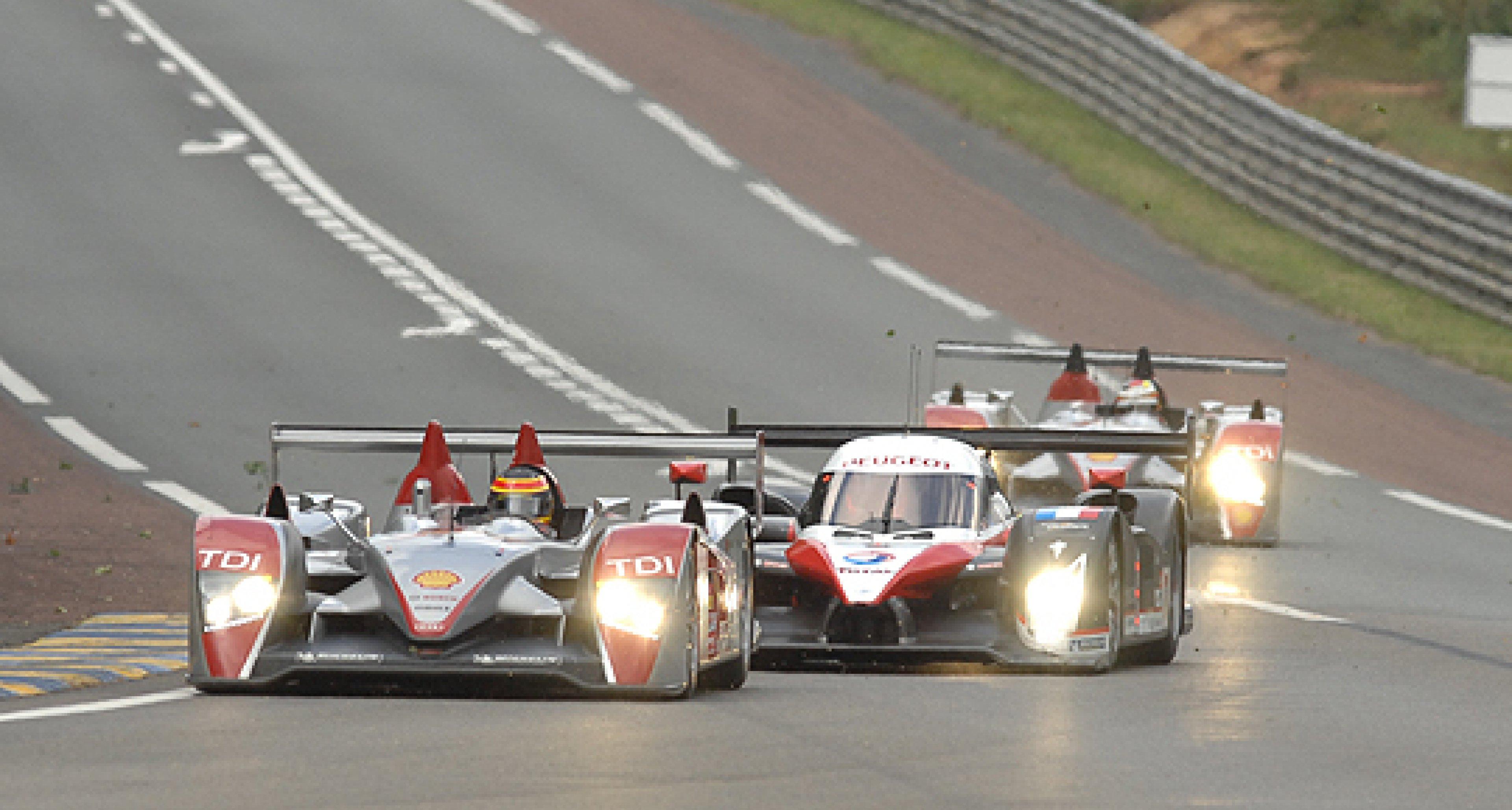 Le Mans 24h-Rennen 2007: Durch den Monsun