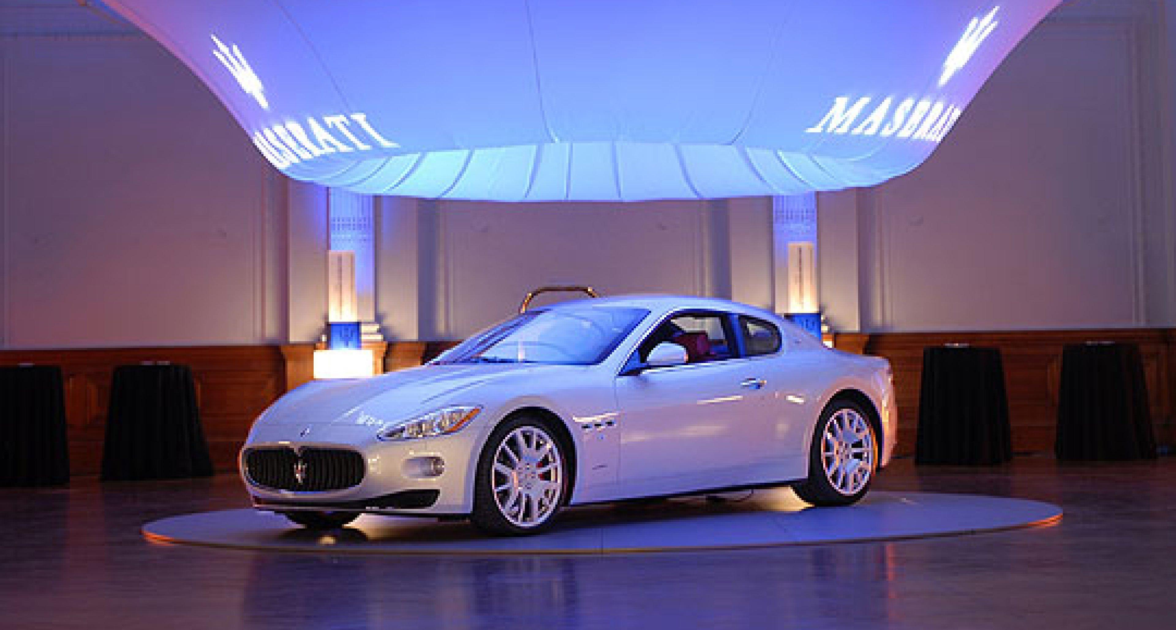 Maserati GranTurismo debuts in London and at the Goodwood Festival