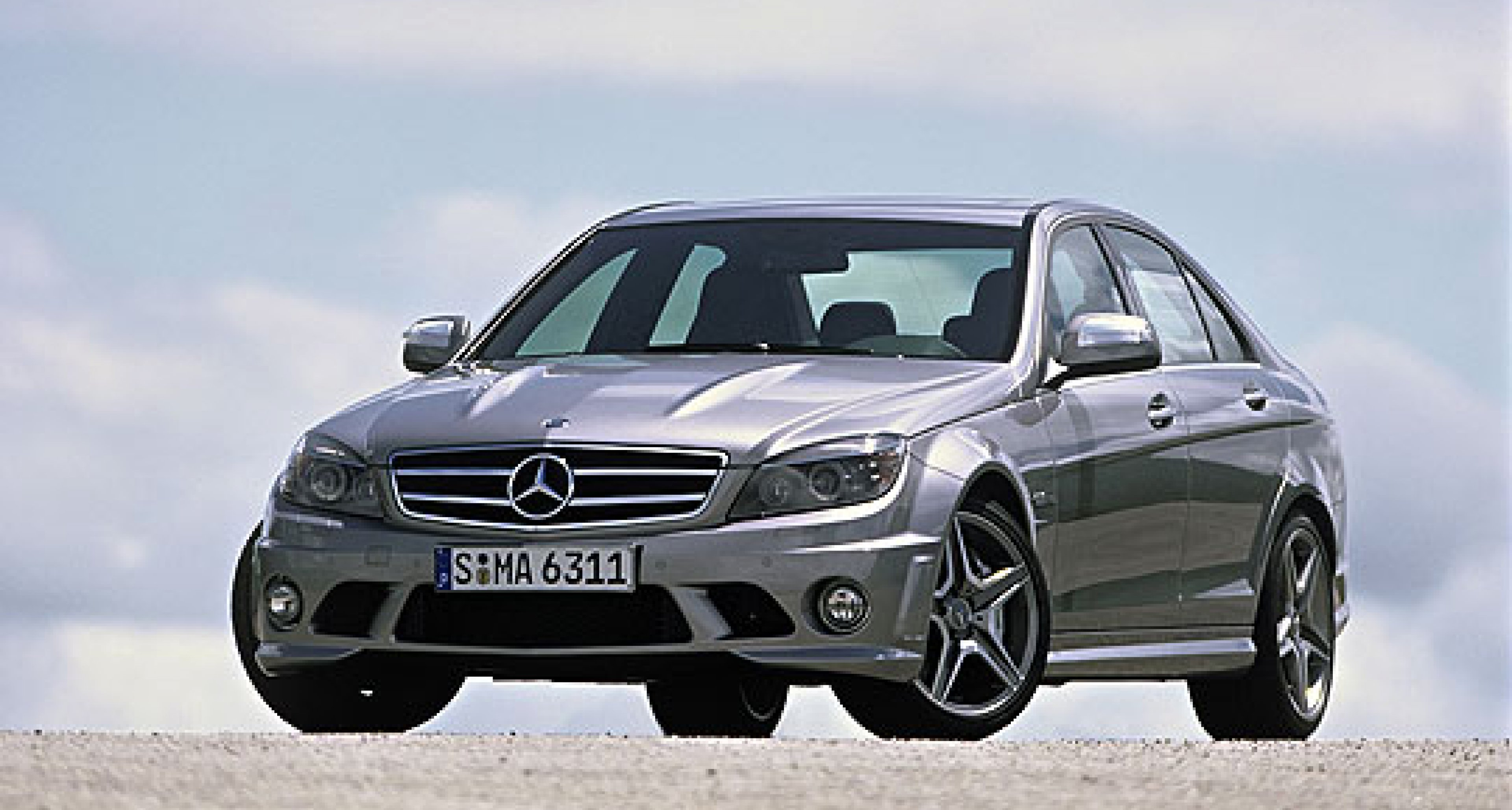 A Mercedes C-Class... but not as we know it