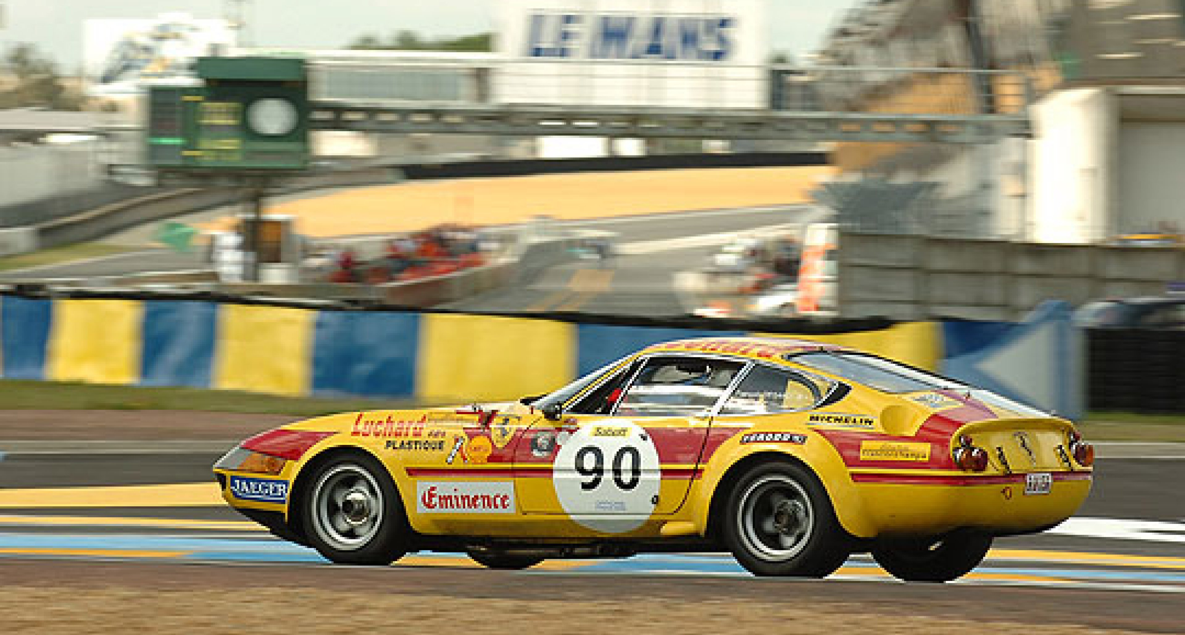 Shell Ferrari Historic Challenge at Le Mans - July 2007