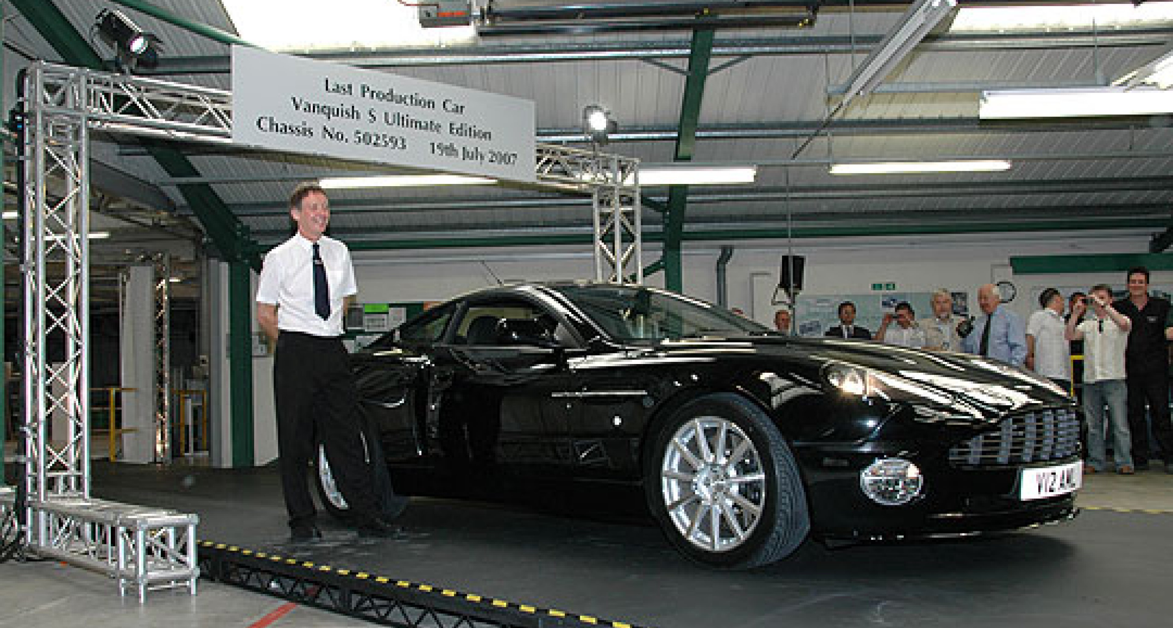 The Final Vanquish S Ultimate Edition Rolls Off the Production Line at Newport Pagnell