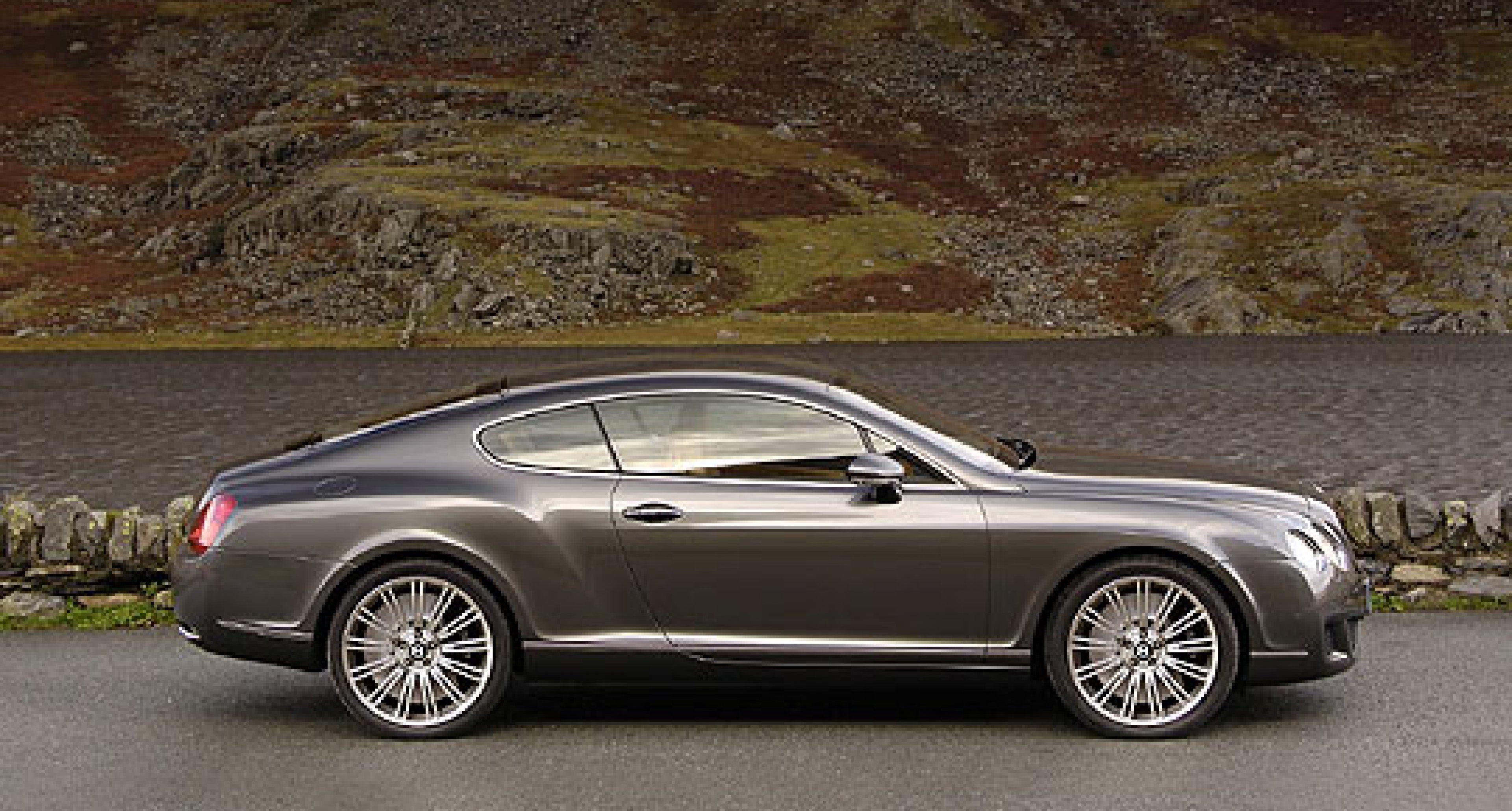The 600bhp Bentley Continental GT Speed