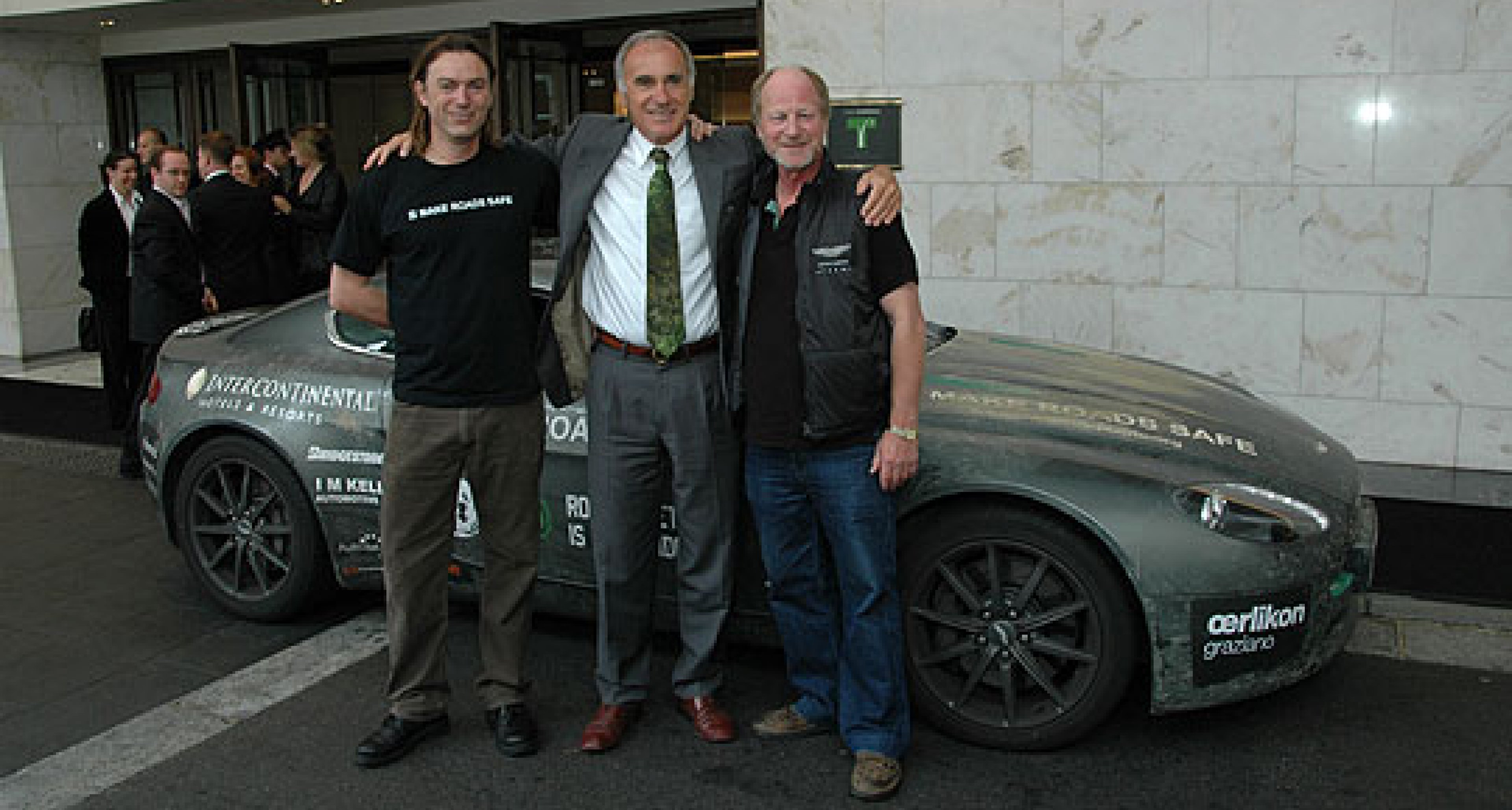 Aston Martin V8 Vantage finishes epic journey from Tokyo to London