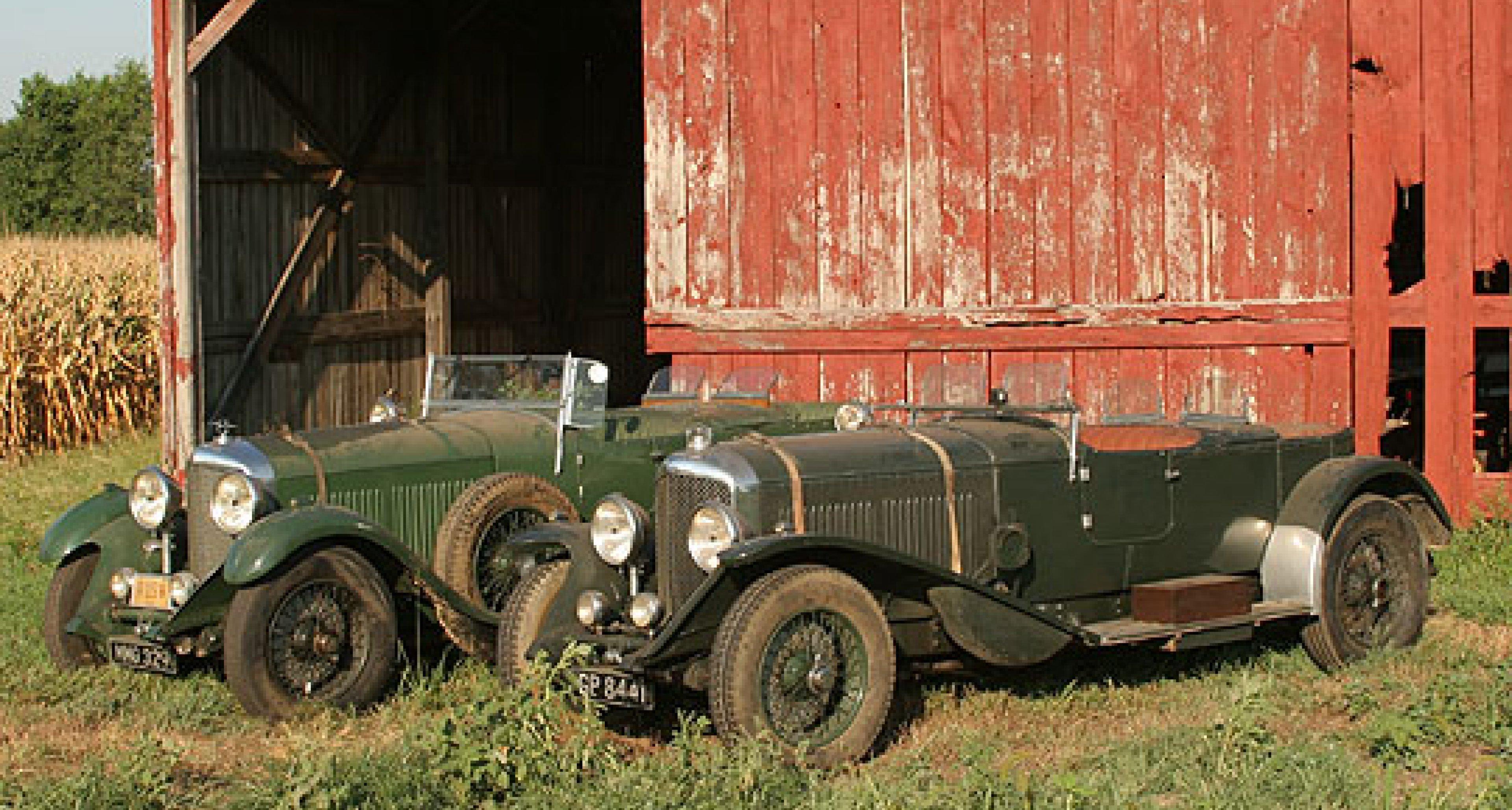 8-Litre Bentley Barn-Finds
