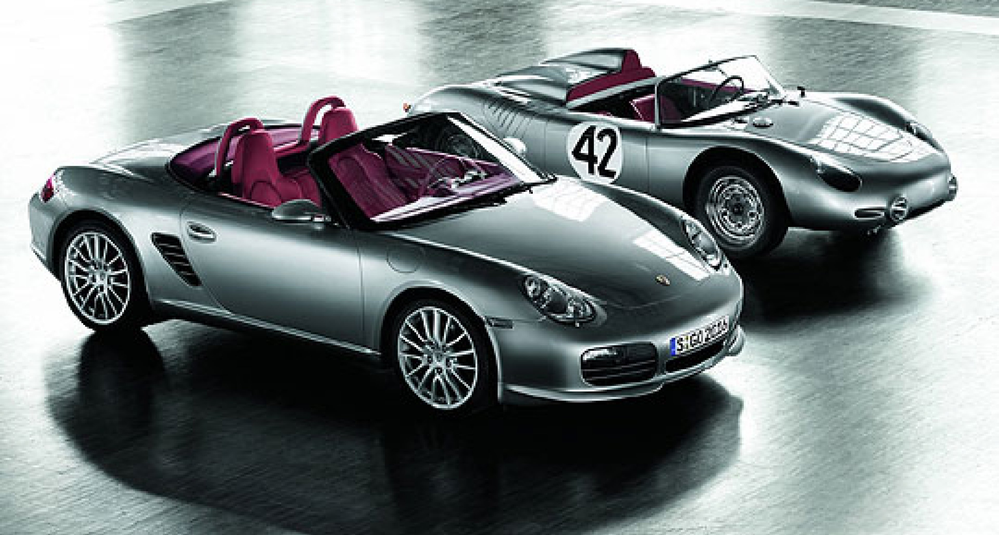 Limited Edition Boxster RS 60 Spyder