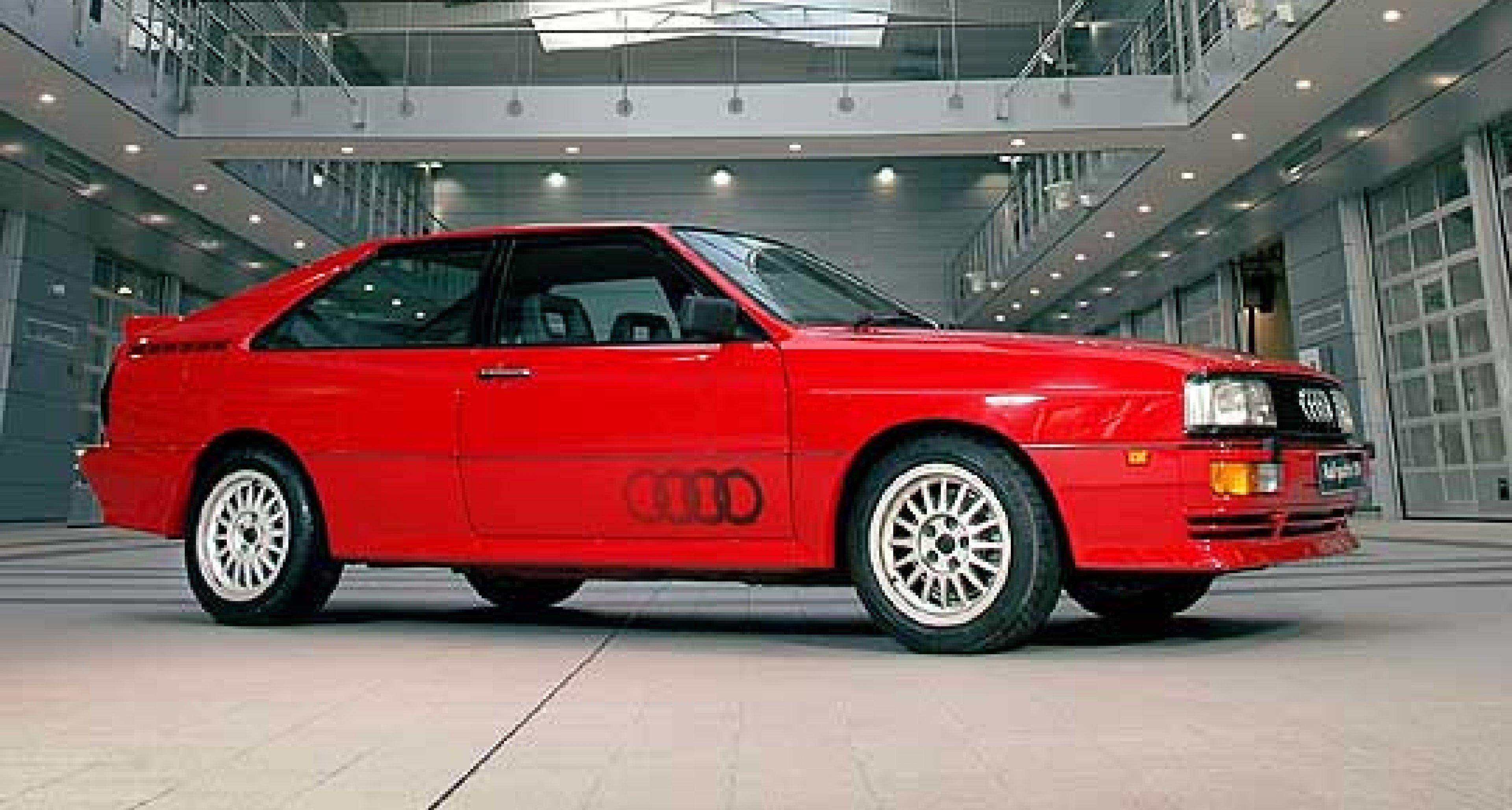 Audi quattro – One Very Careful Owner