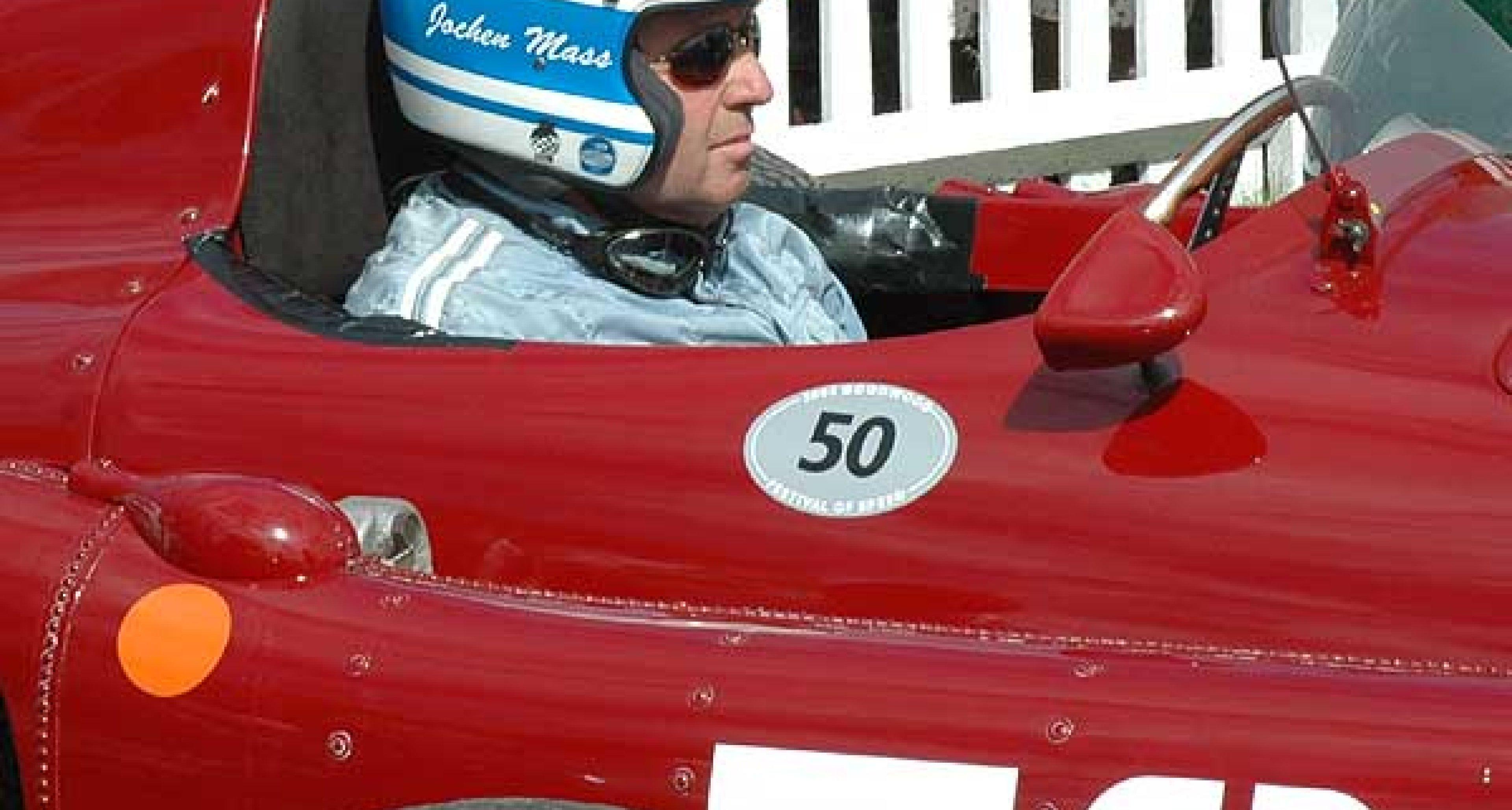 Jochen Mass and Allan McNish