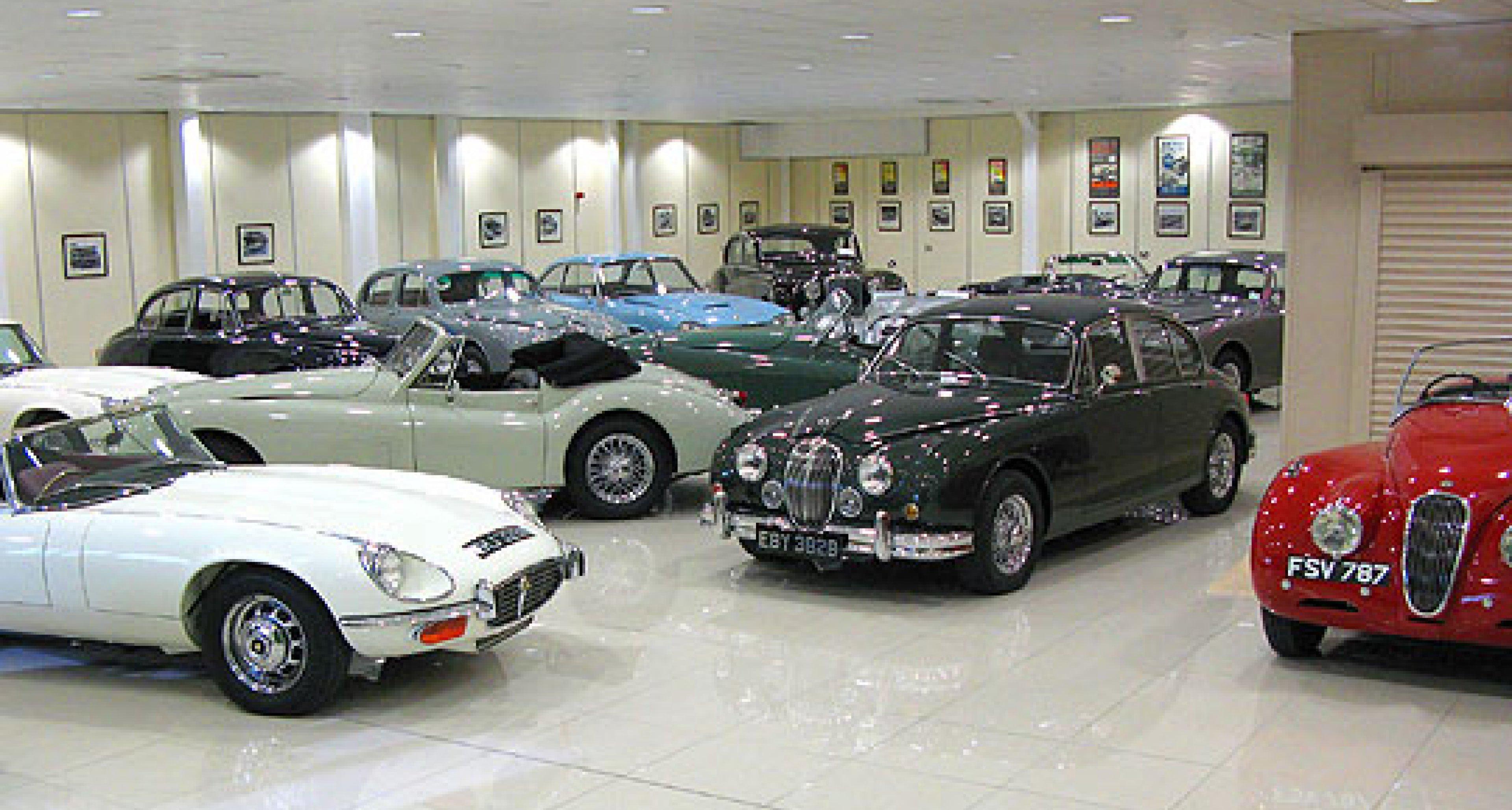 New Showroom for Classic Jaguars
