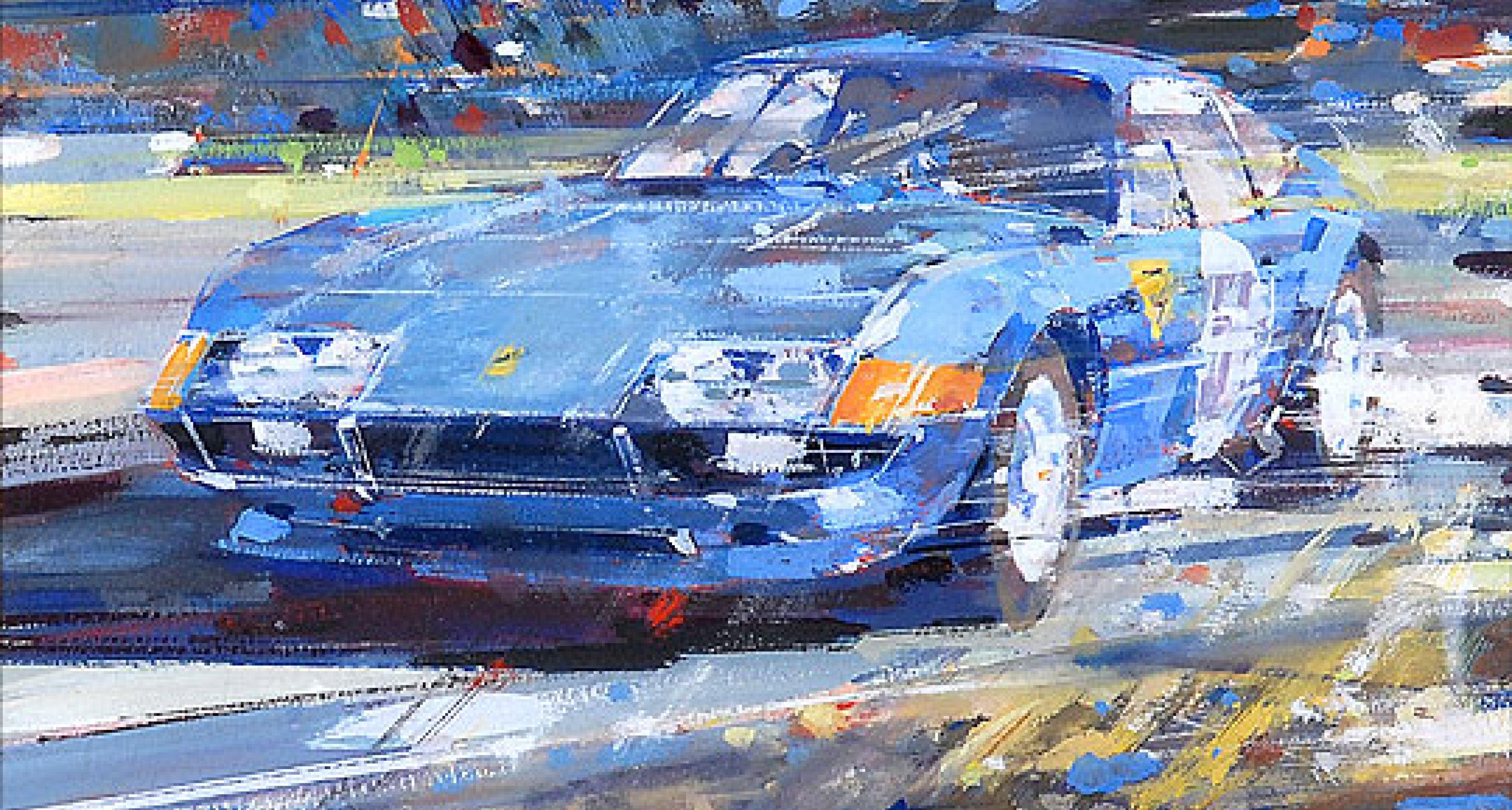 Superfast: The Ferrari Paintings of Dexter Brown