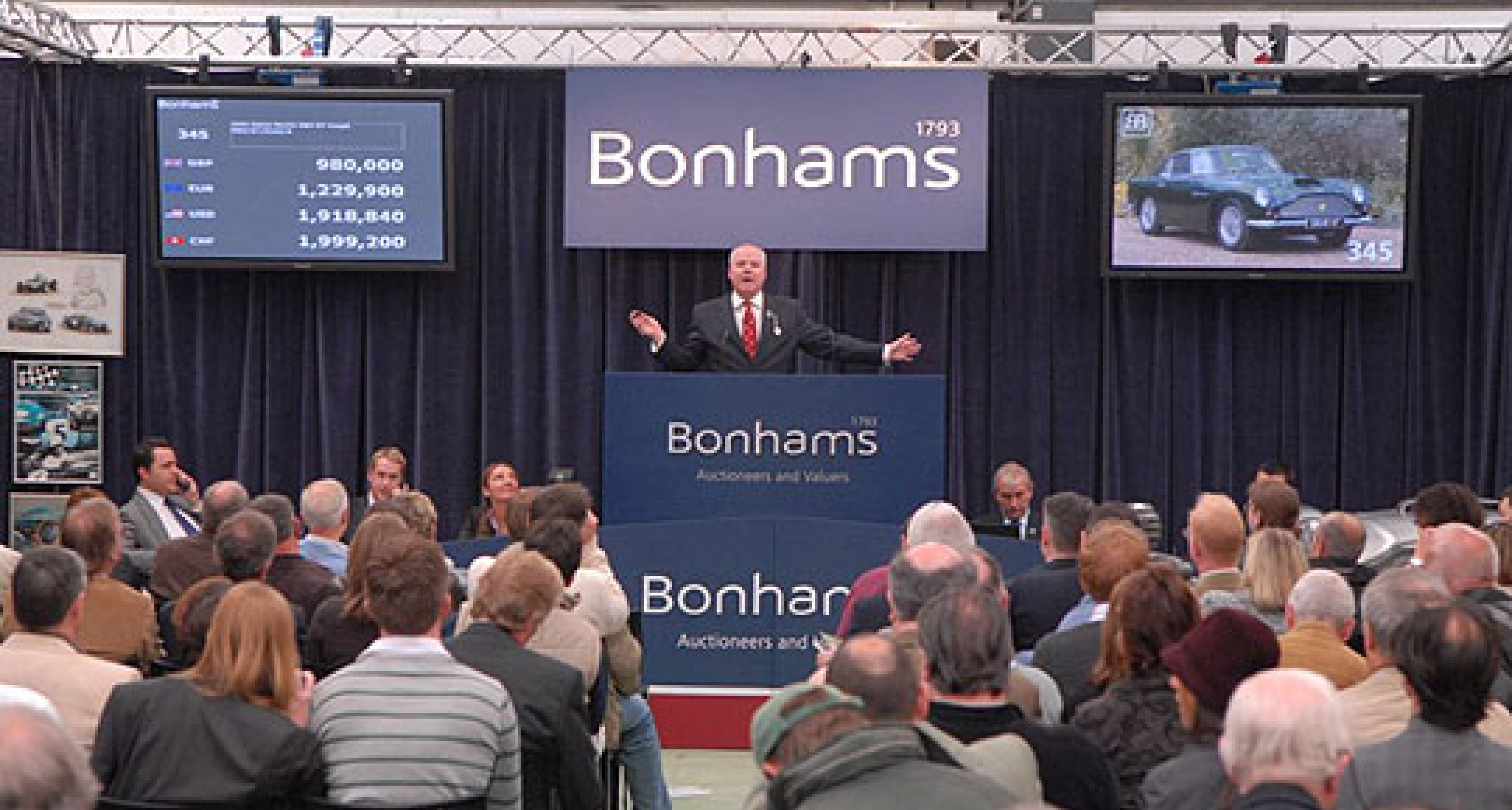 Bonhams Aston Martin Sale at Newport Pagnell - 17th May 2008 - Review