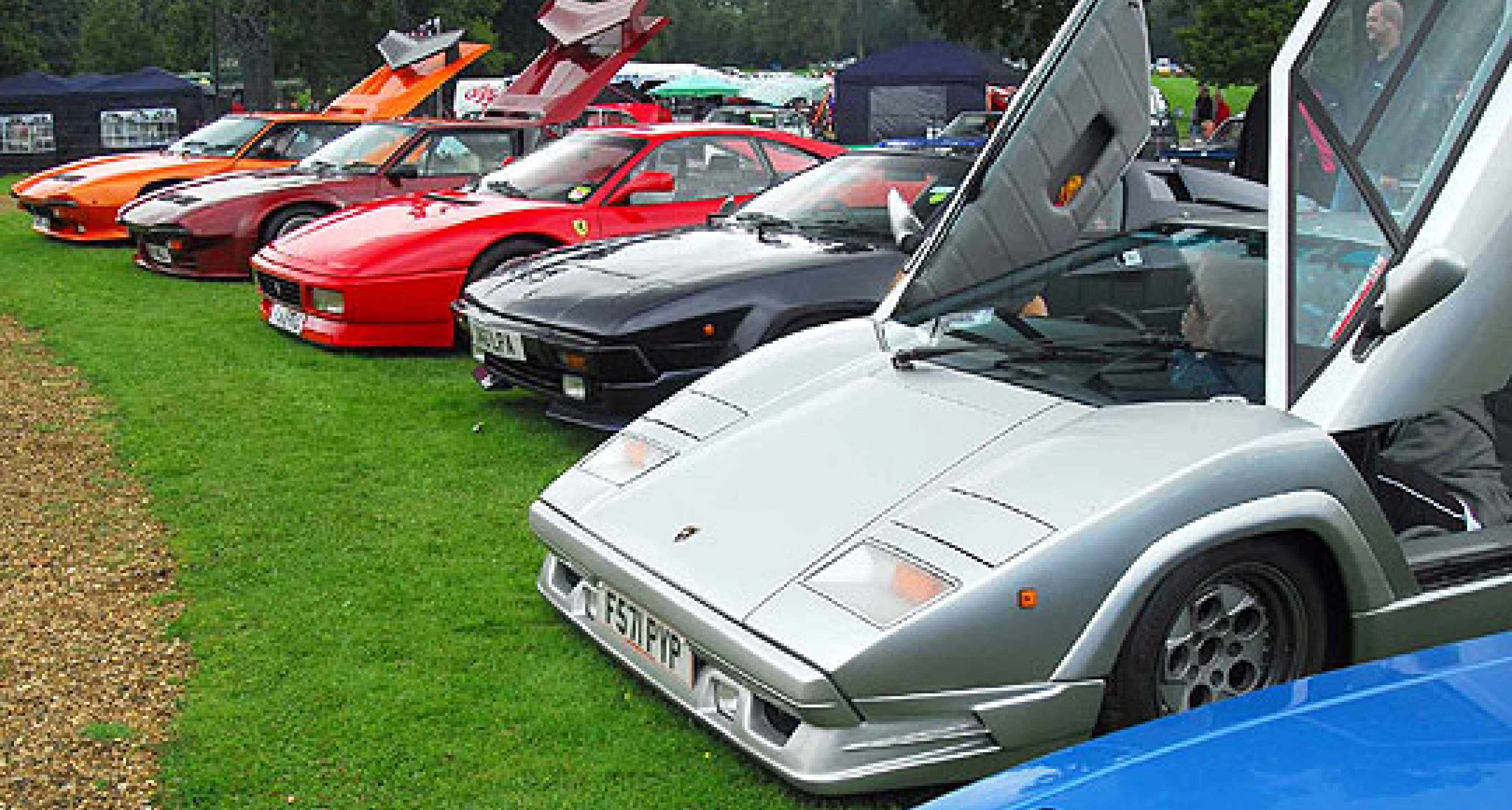 Italian Car Concours at Stanford Hall