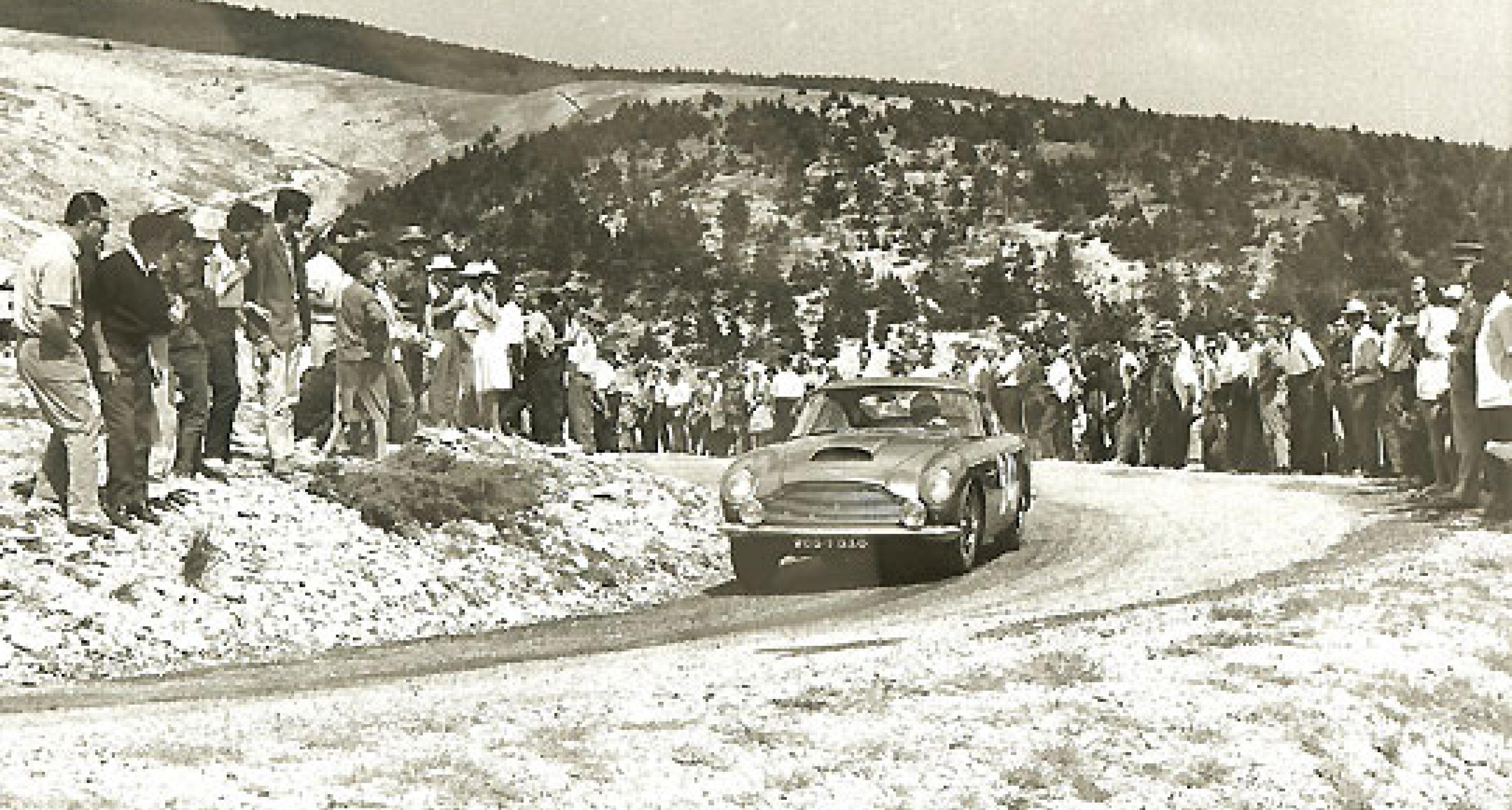 Aston Martin DB4GT - ex-Tour de France