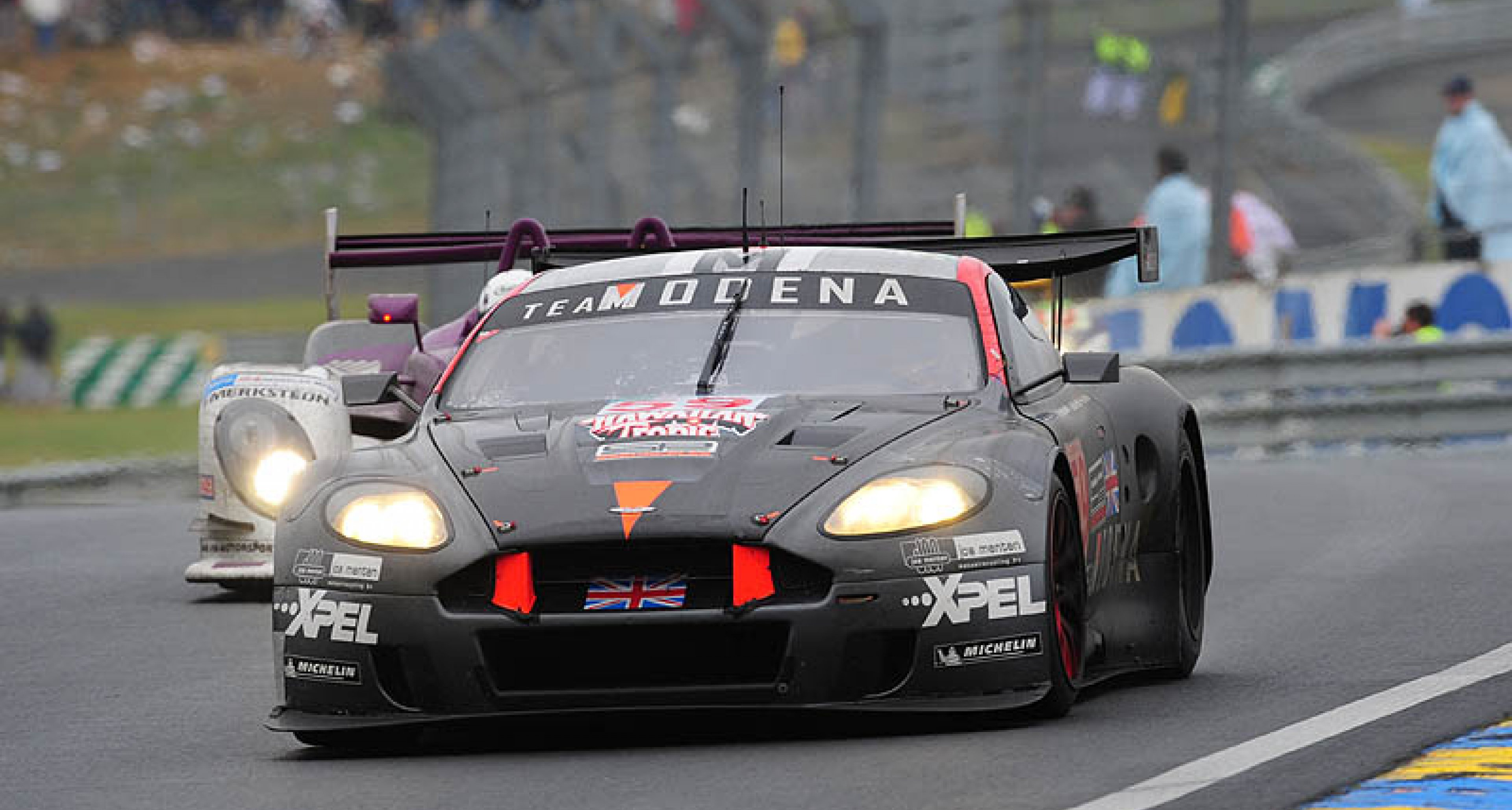 Aston Martin at Le Mans 2008: close-run, but another class victory
