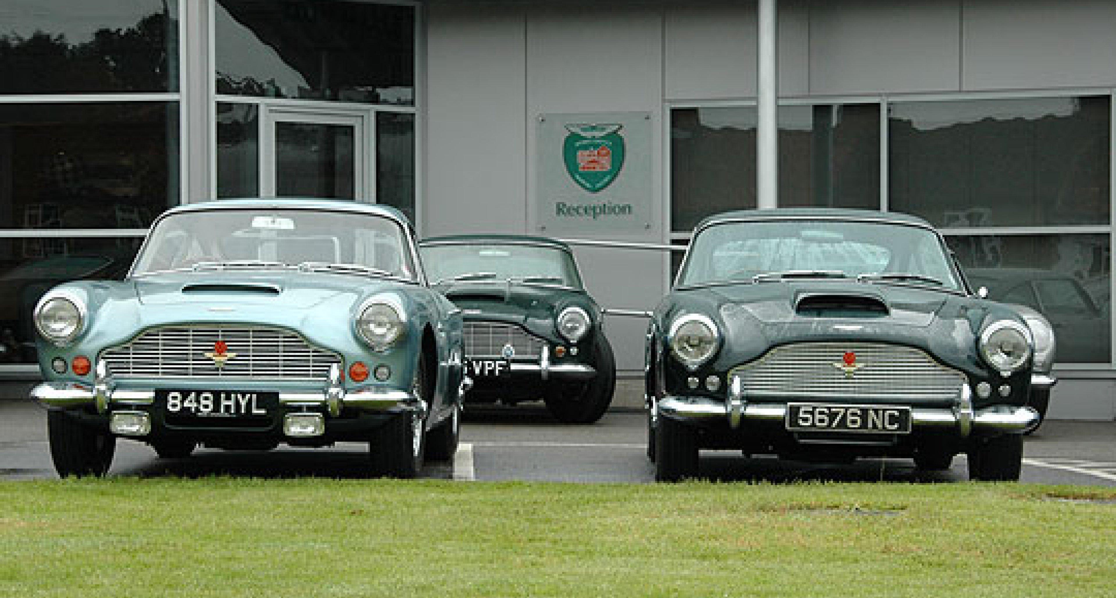 Aston Martin DB4: 50. Jubiläum