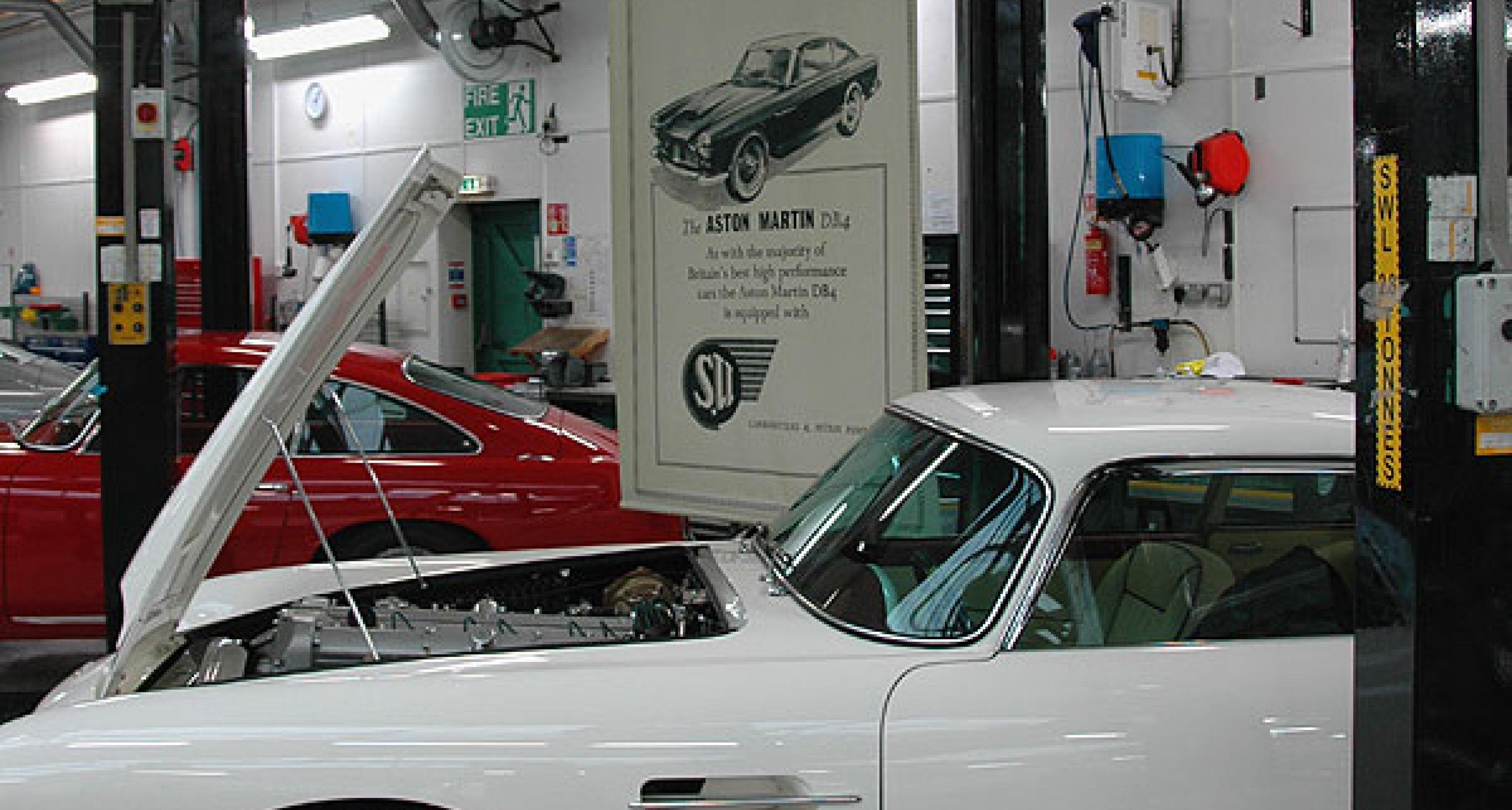 Aston Martin DB4: 50th Birthday Celebrations