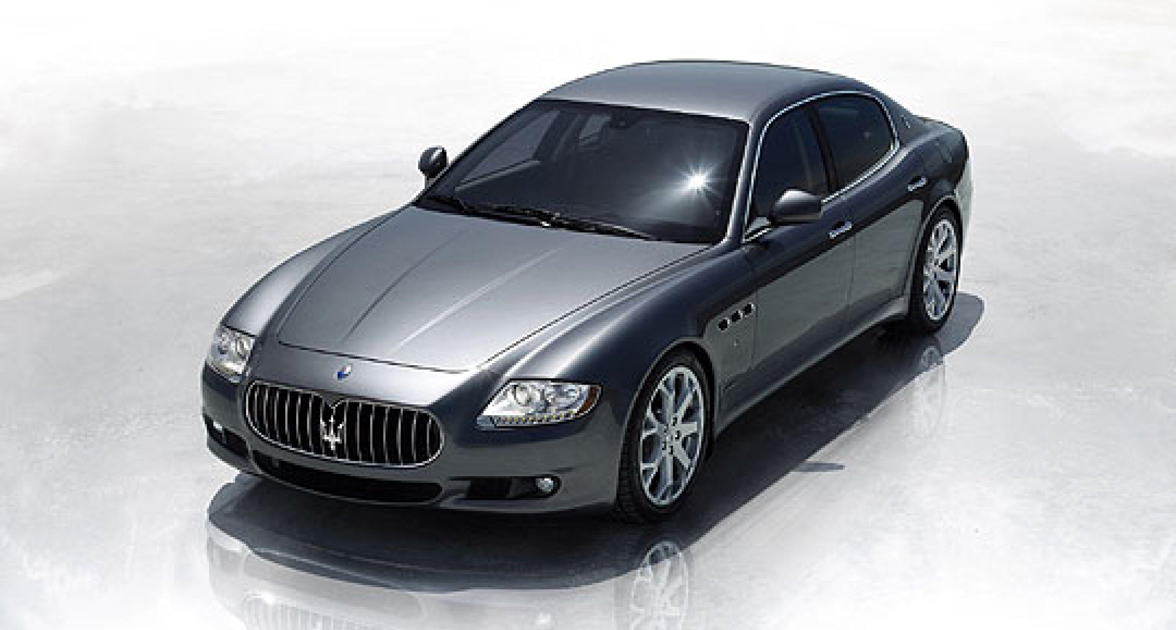Maserati Updates the Quattroporte