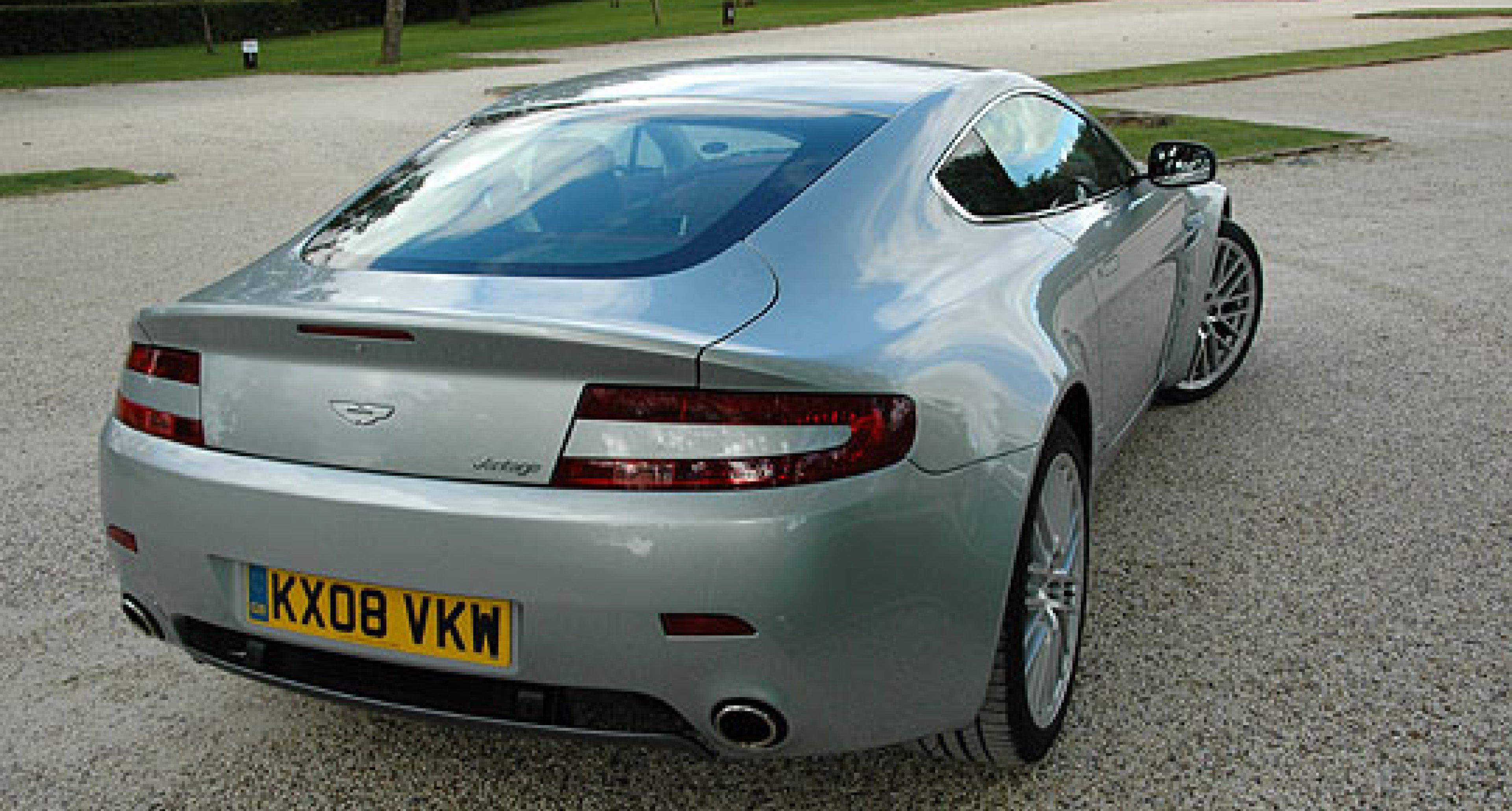 Road Test: Aston Martin V8 Vantage 4.7