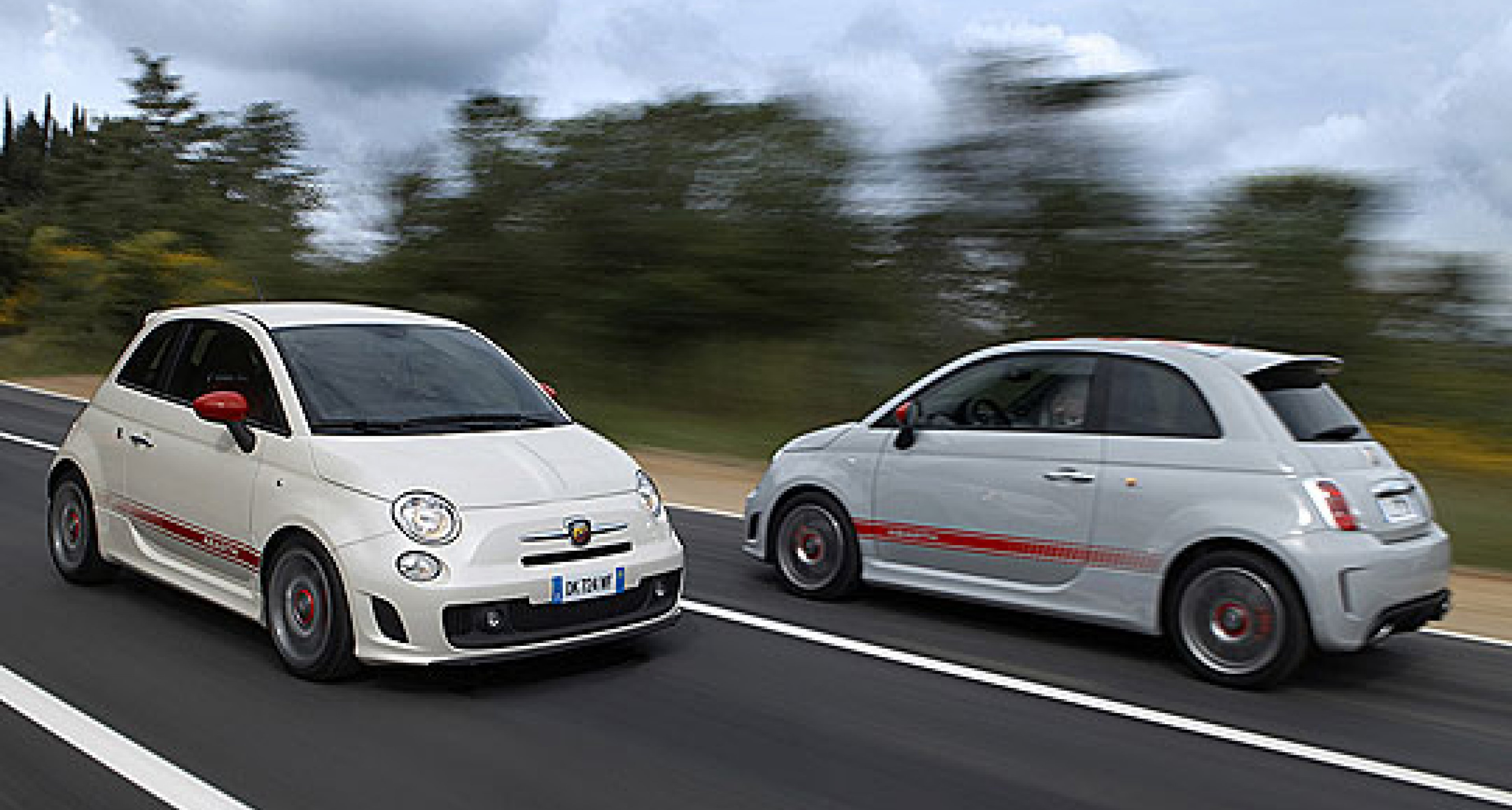 Fiat 500 and 500 Abarth