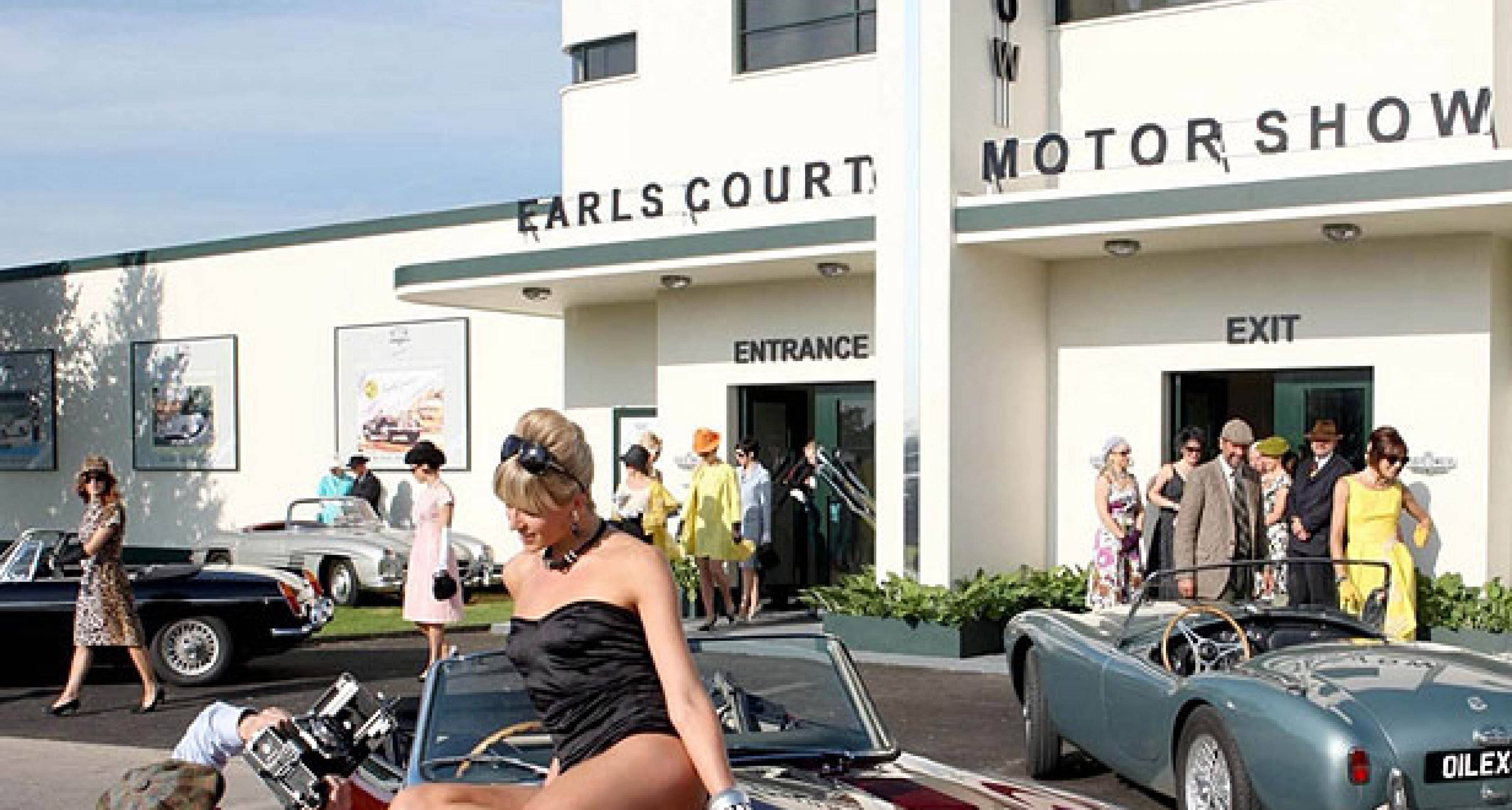 Goodwood Revival Motor Show?