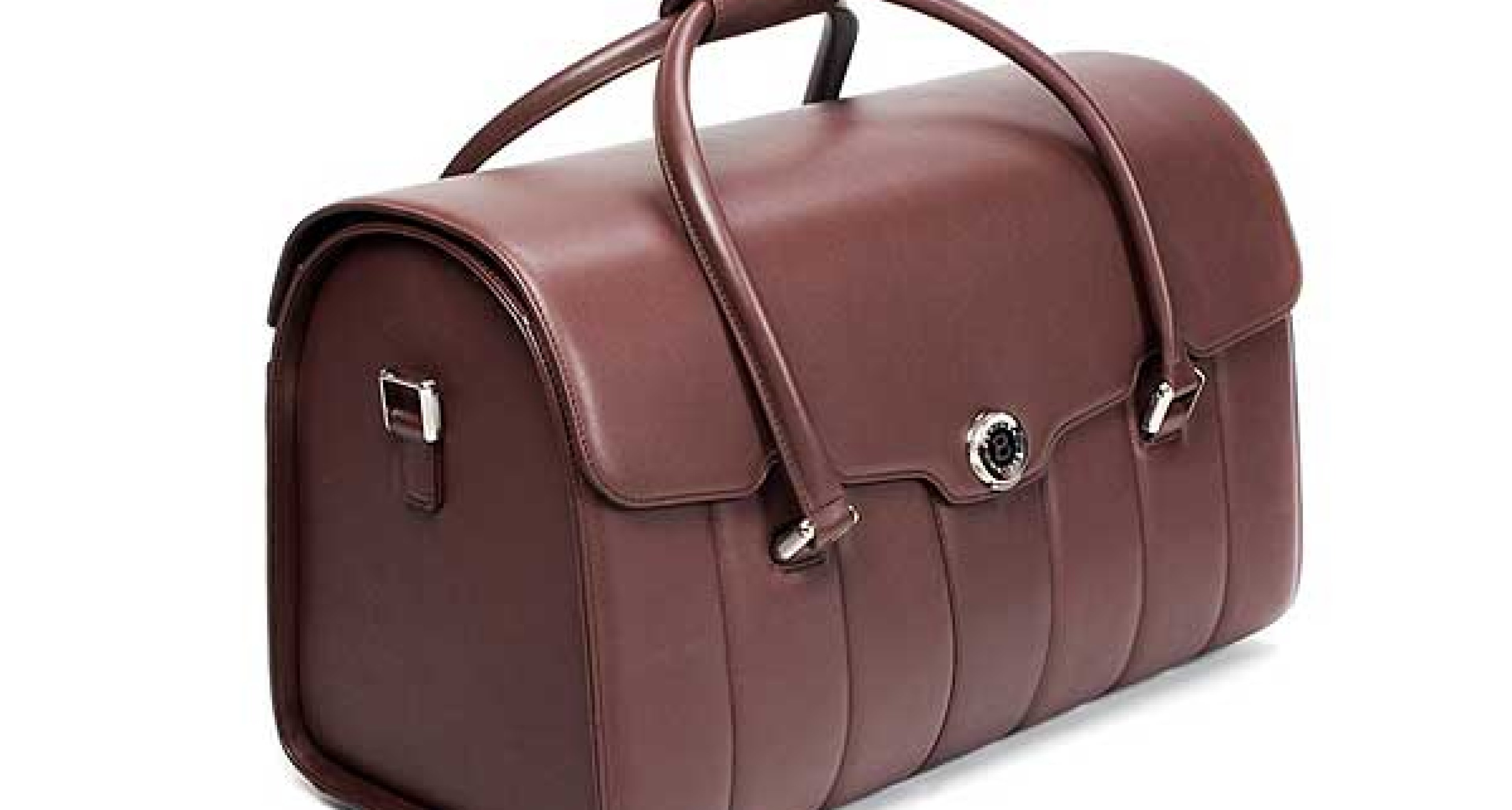 Alfred Dunhill Leather Luggage for Bentley