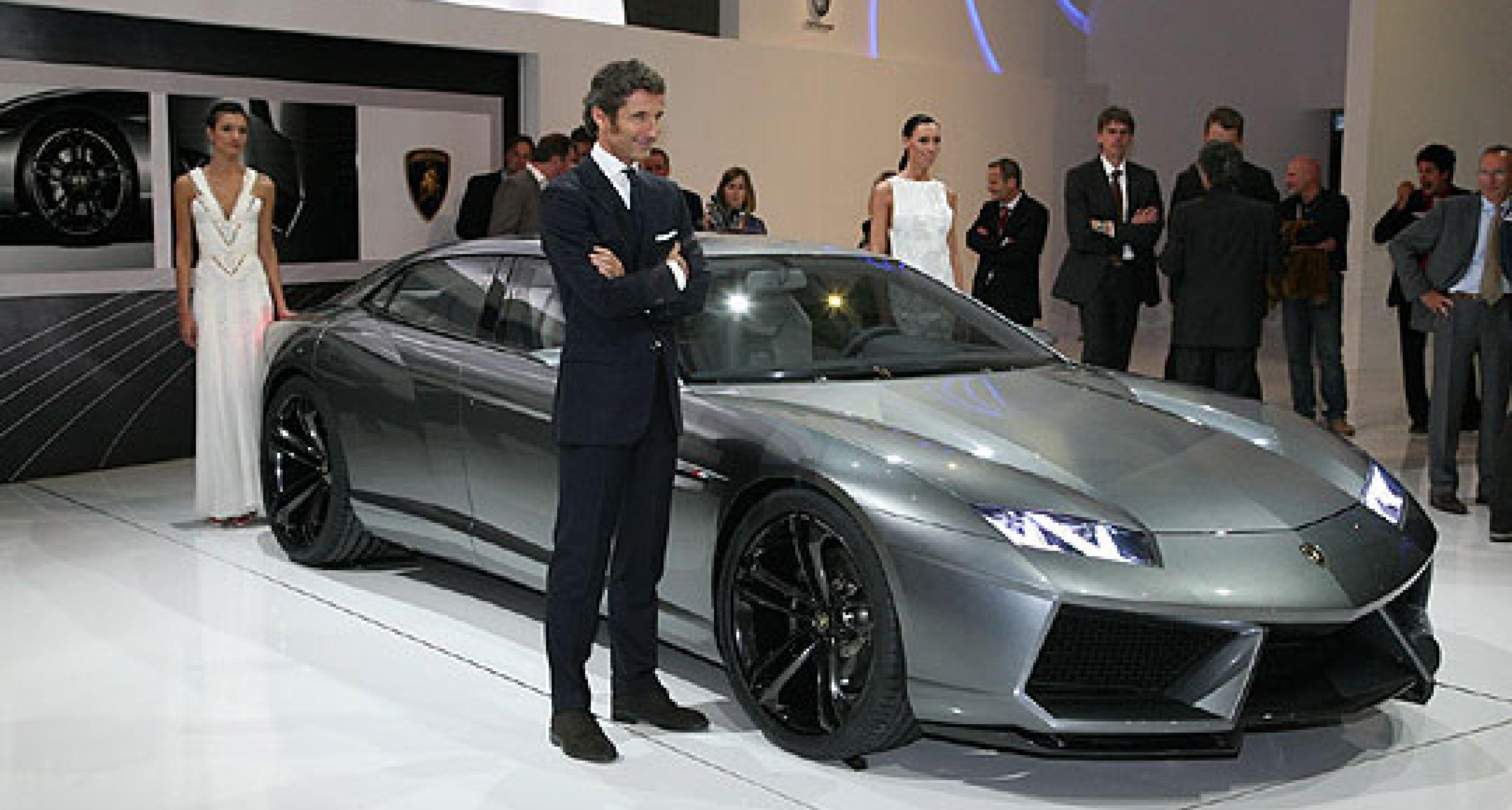 Lamborghini Estoque: Four-seater Concept Debuts in Paris