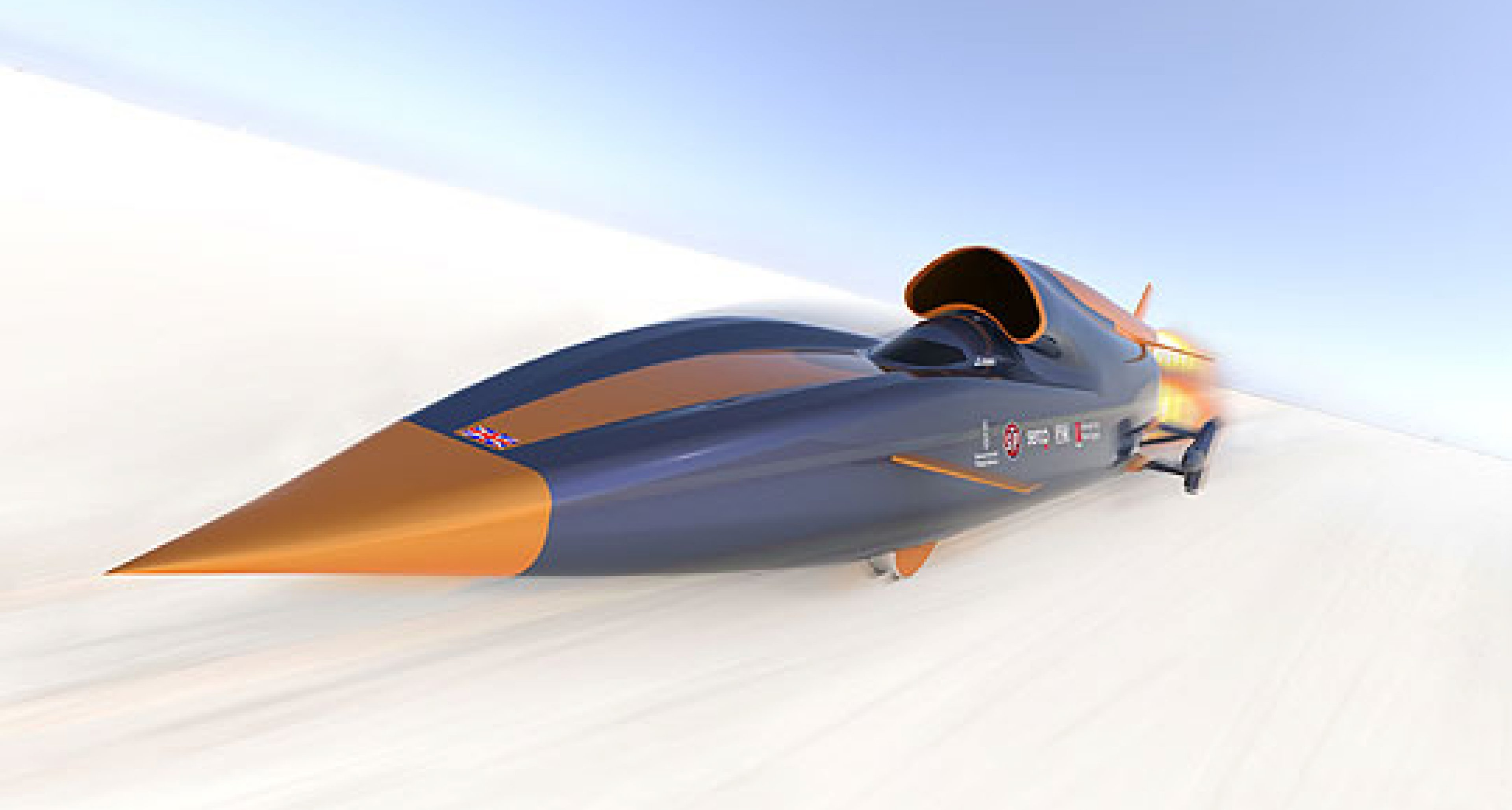 1000mph Land Speed Record Attempt