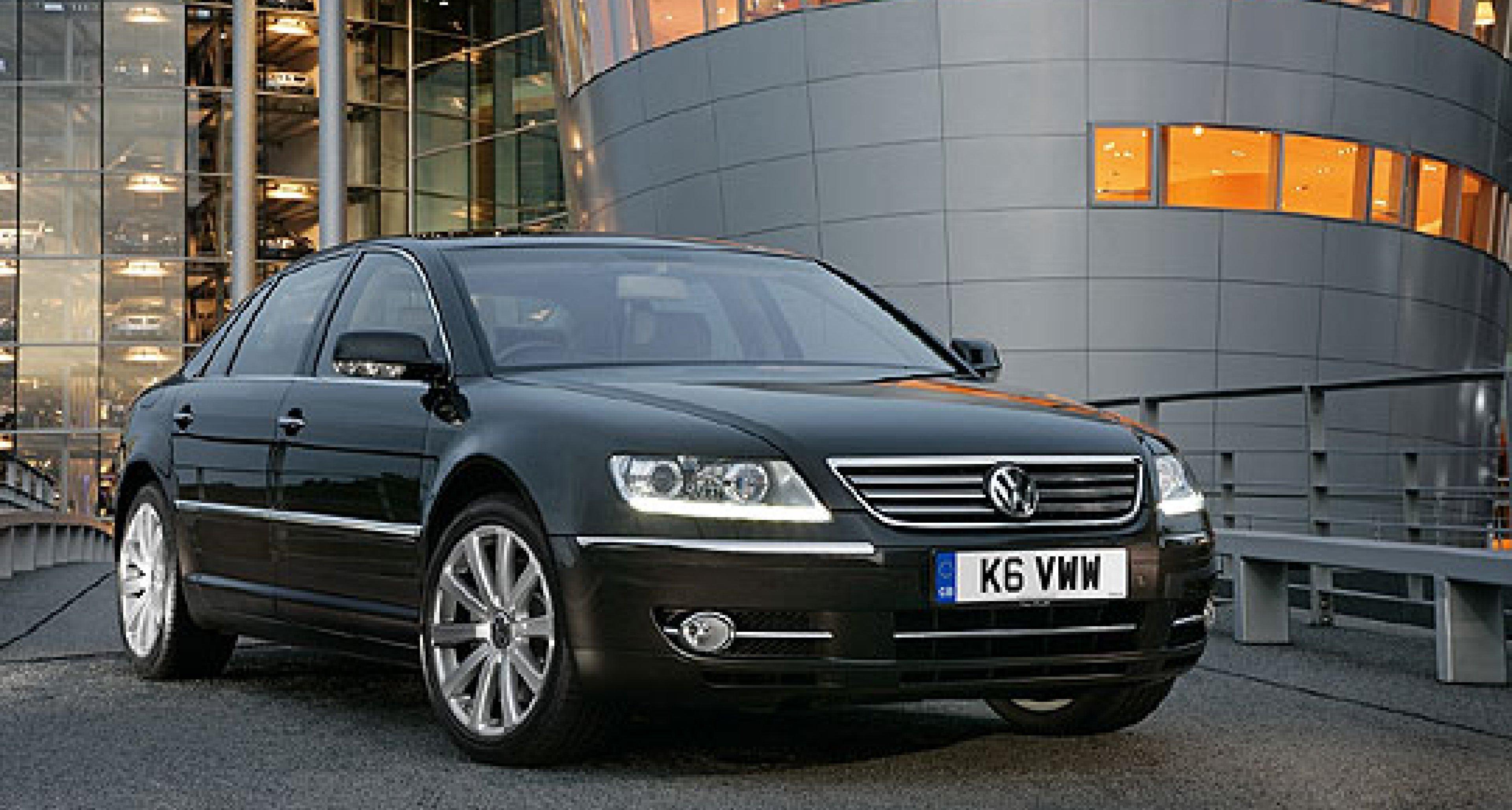 Volkswagen Phaeton: cost-conscious luxury?