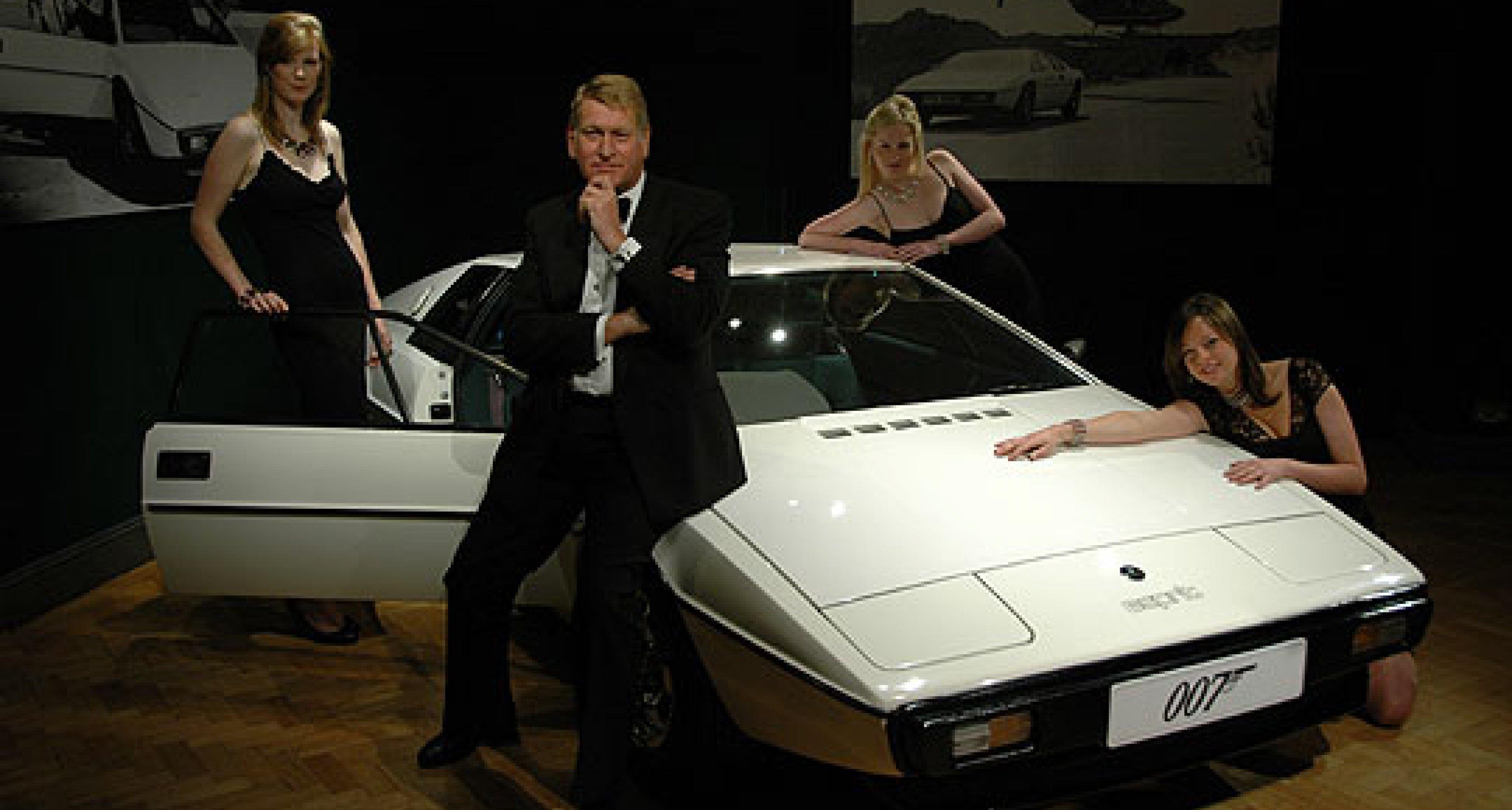 Bonhams to Sell James Bond's Lotus Esprit at Olympia