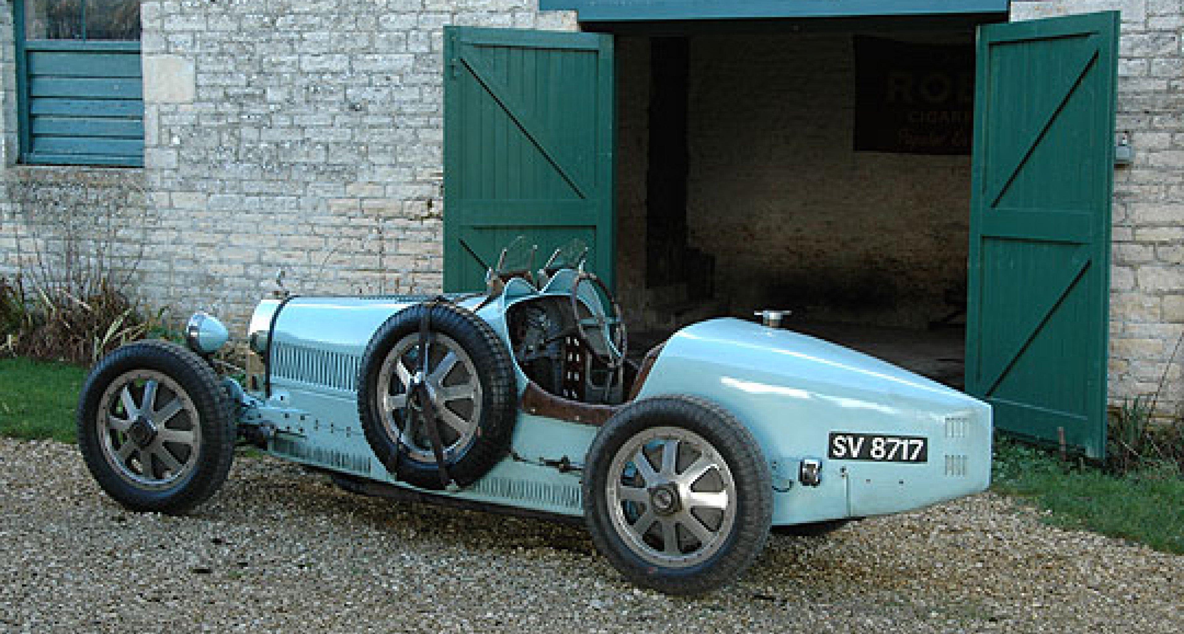 1926 Bugatti Type 35T: A Riding Mechanic's Tale