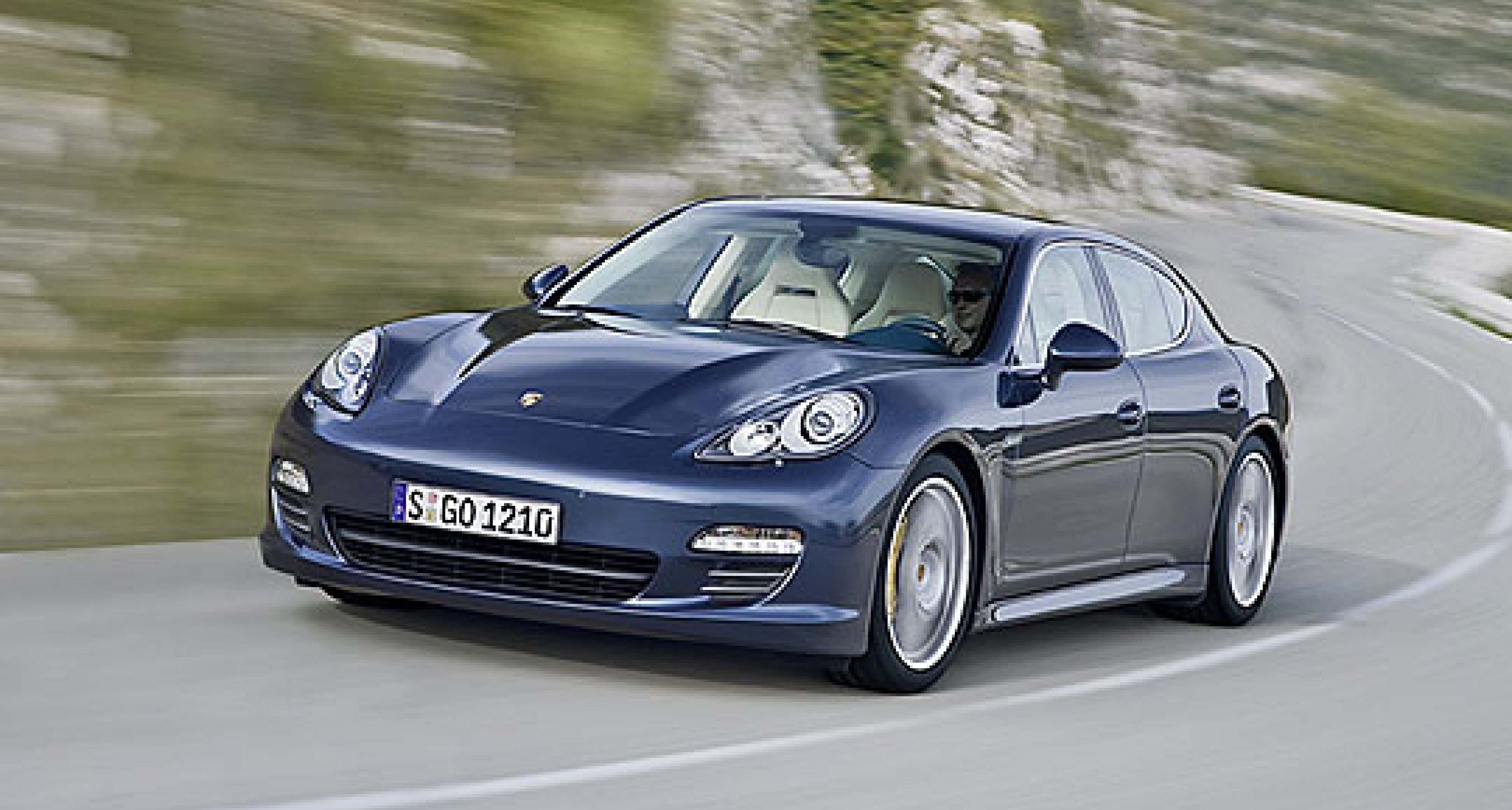 Porsche to Launch Panamera at Auto Shanghai 2009