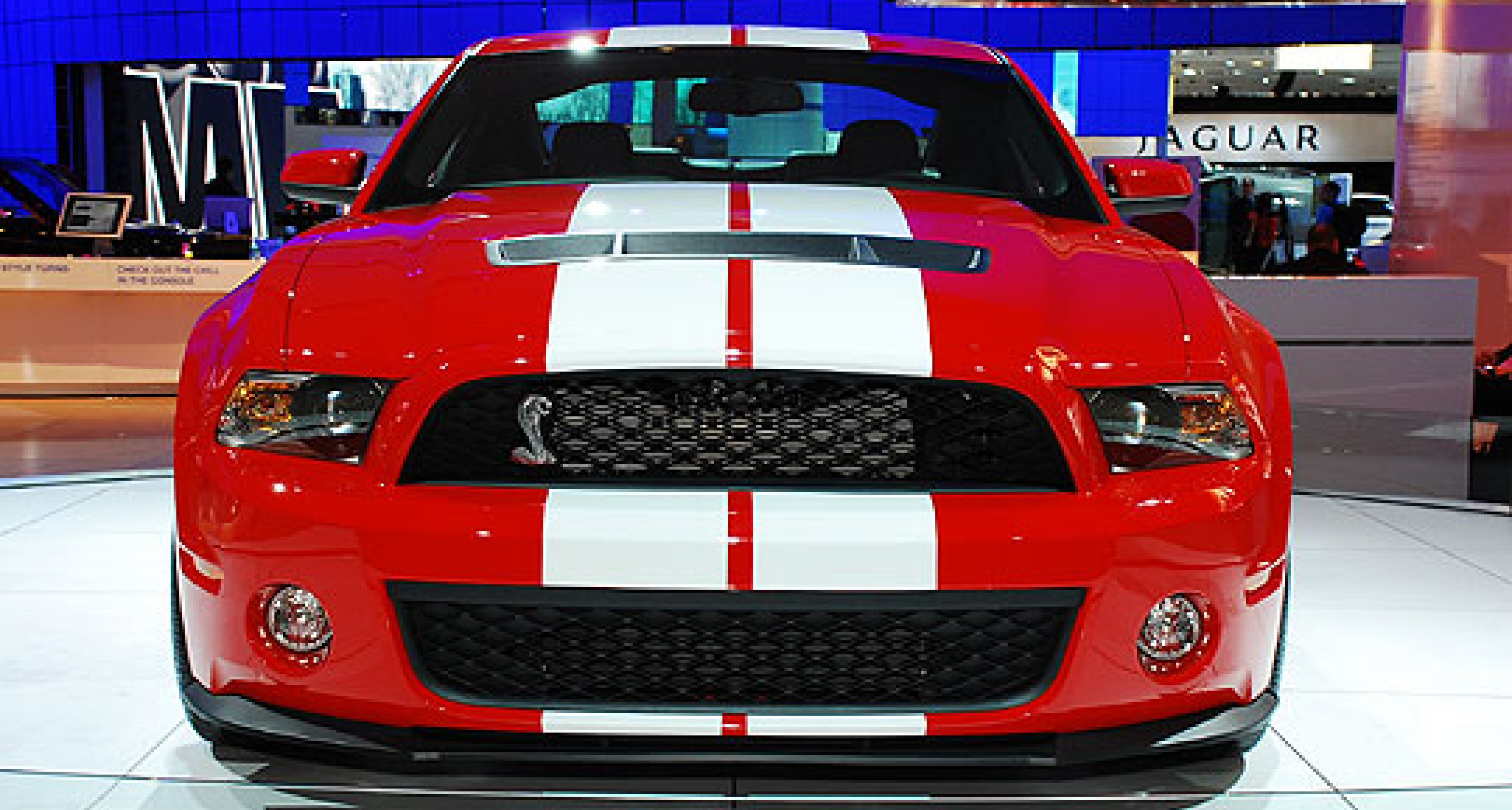New Ford Shelby GT500 Launched at the 2009 NAIAS