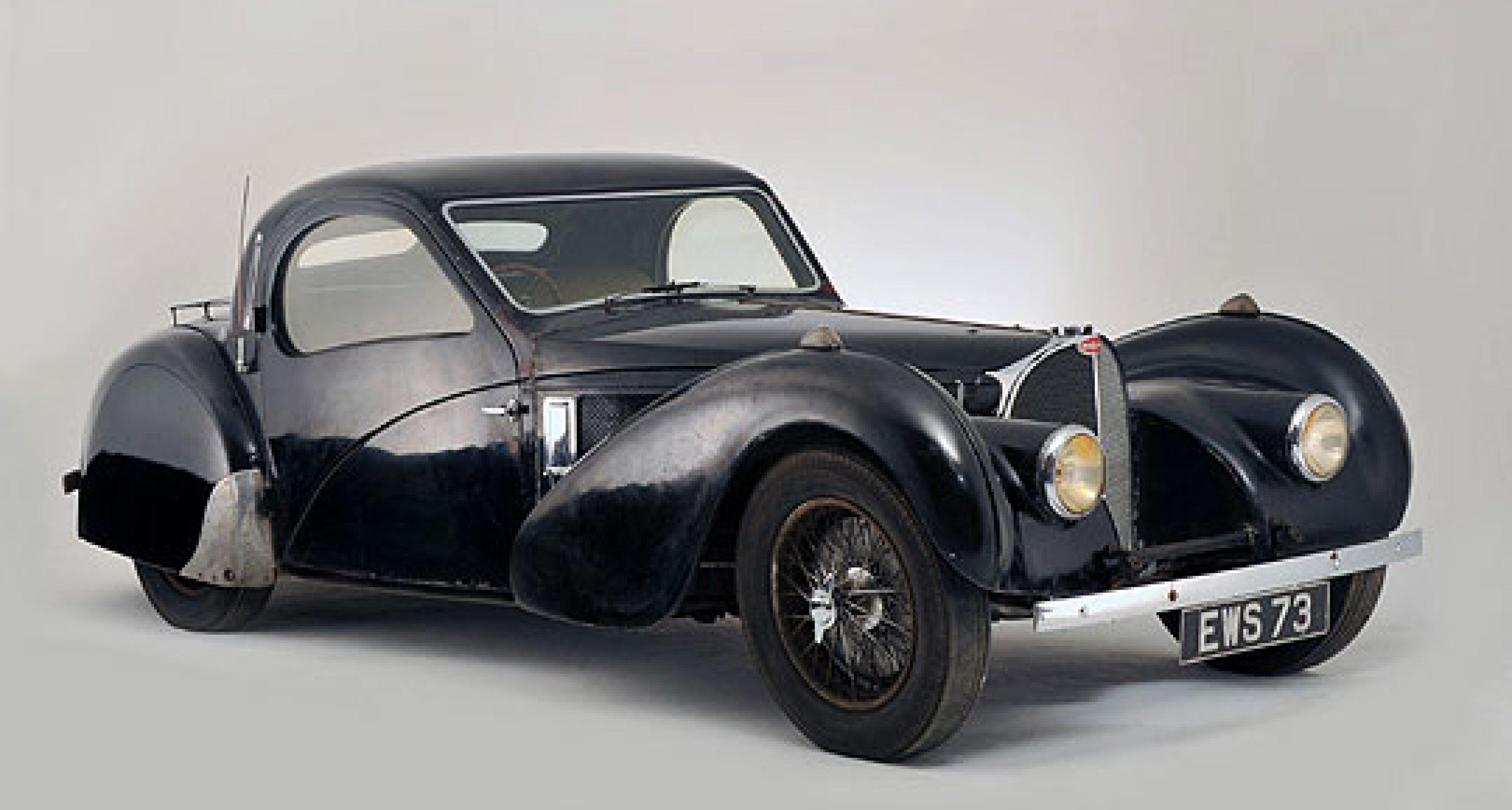 Bonhams to Sell Unrestored Bugatti T57S at Rétromobile 2009