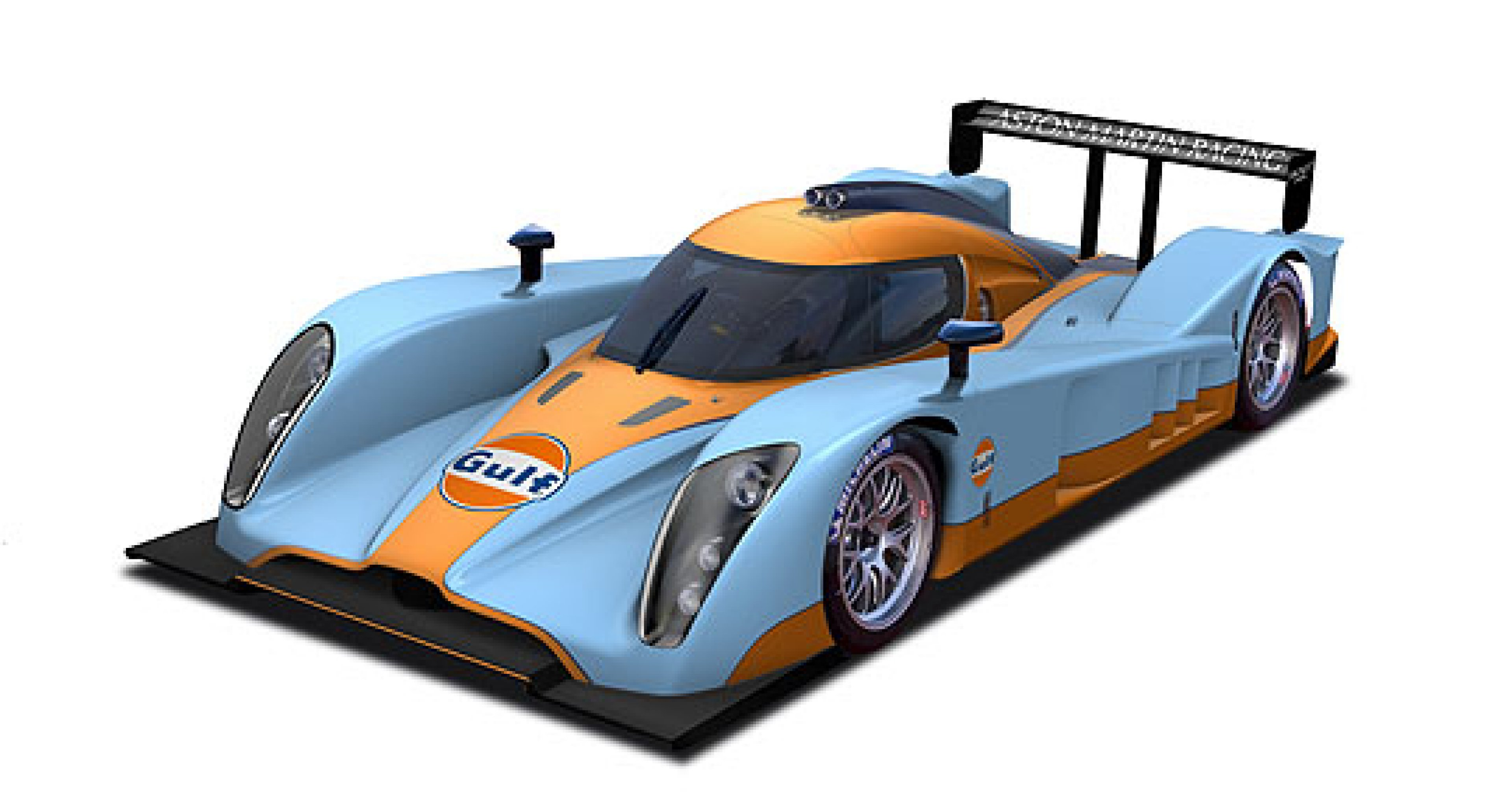 Aston Martin to Race Gulf-liveried Prototype at 2009 Le Mans