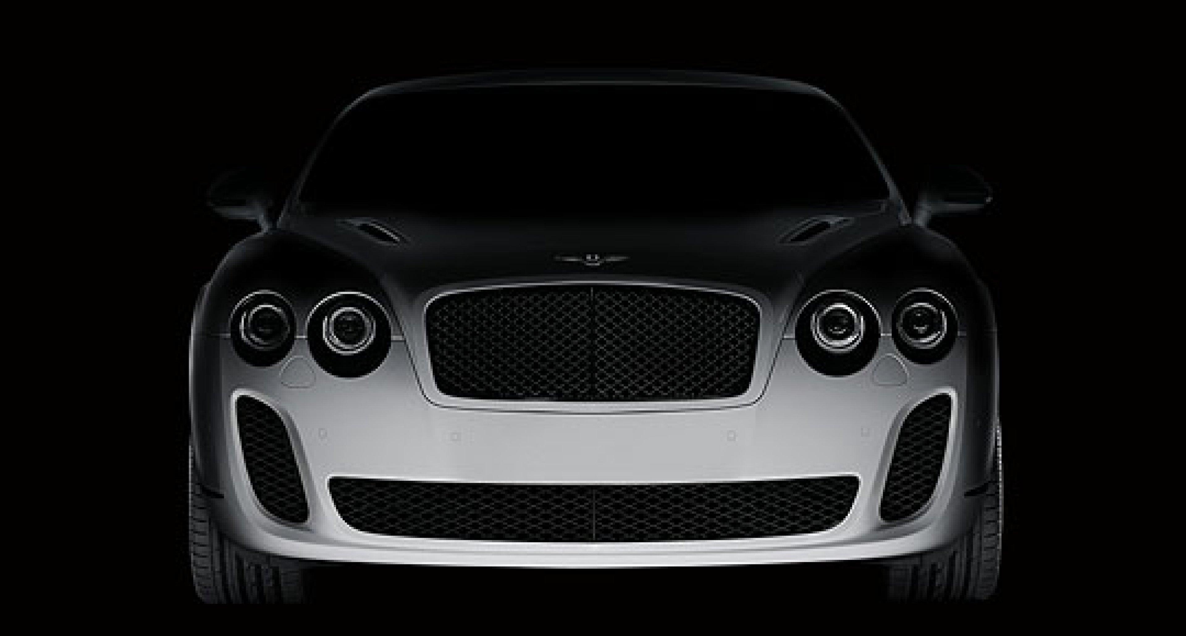 Biofuel Bentley for Geneva Salon Debut
