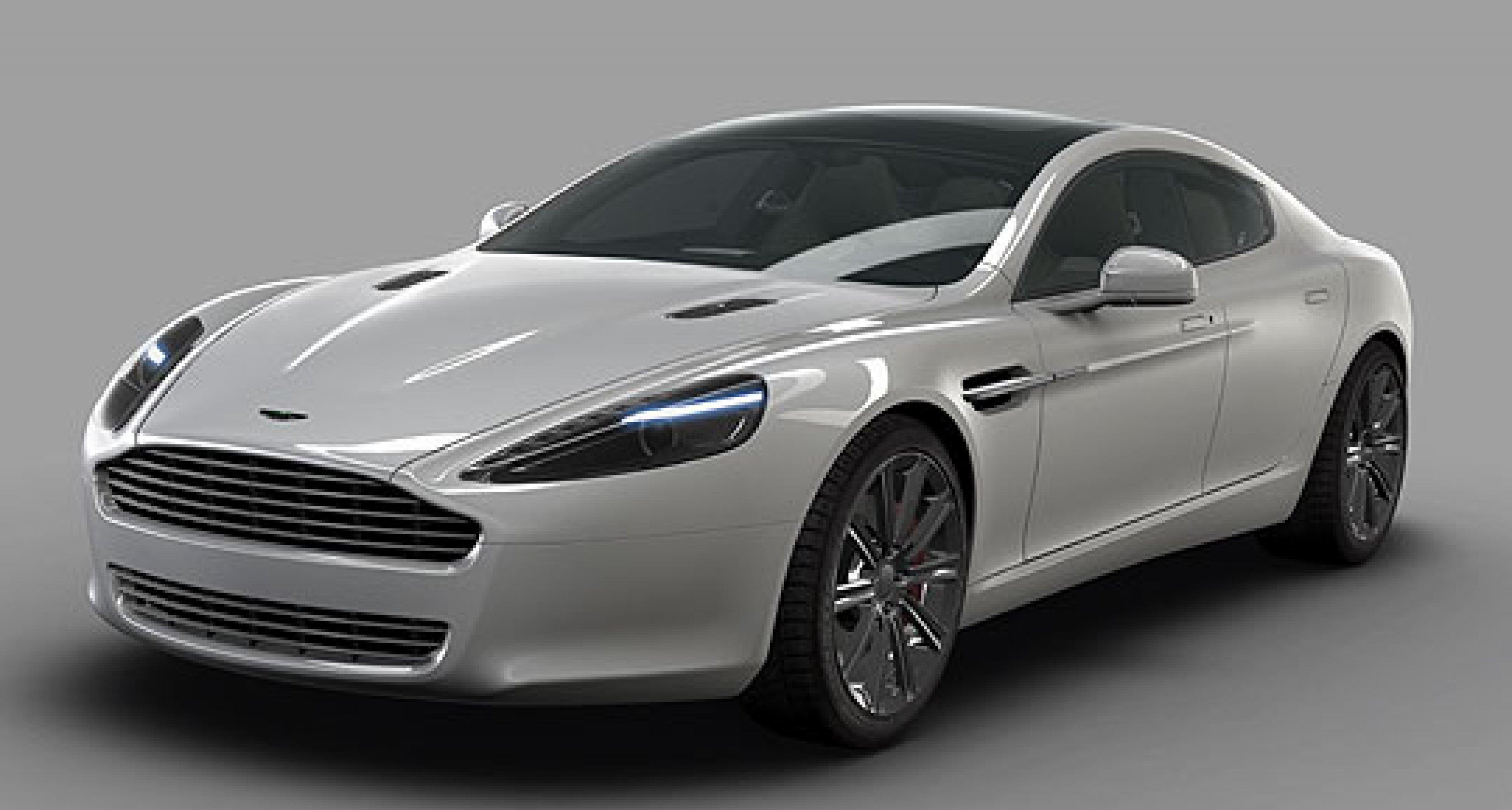 Aston Martin Rapide – New Official Photos