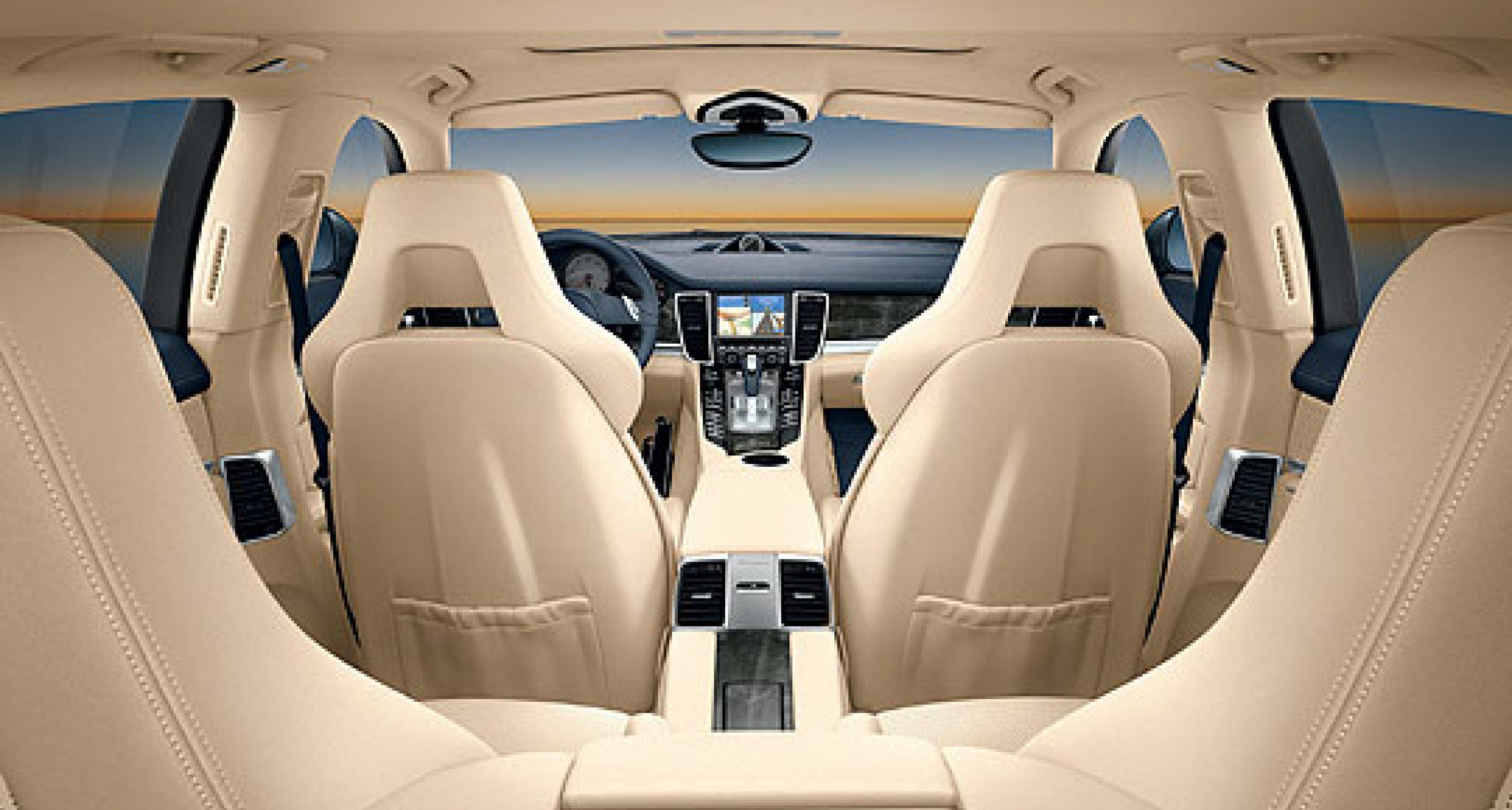 Porsche Panamera: Interior Design and European Pricing Revealed
