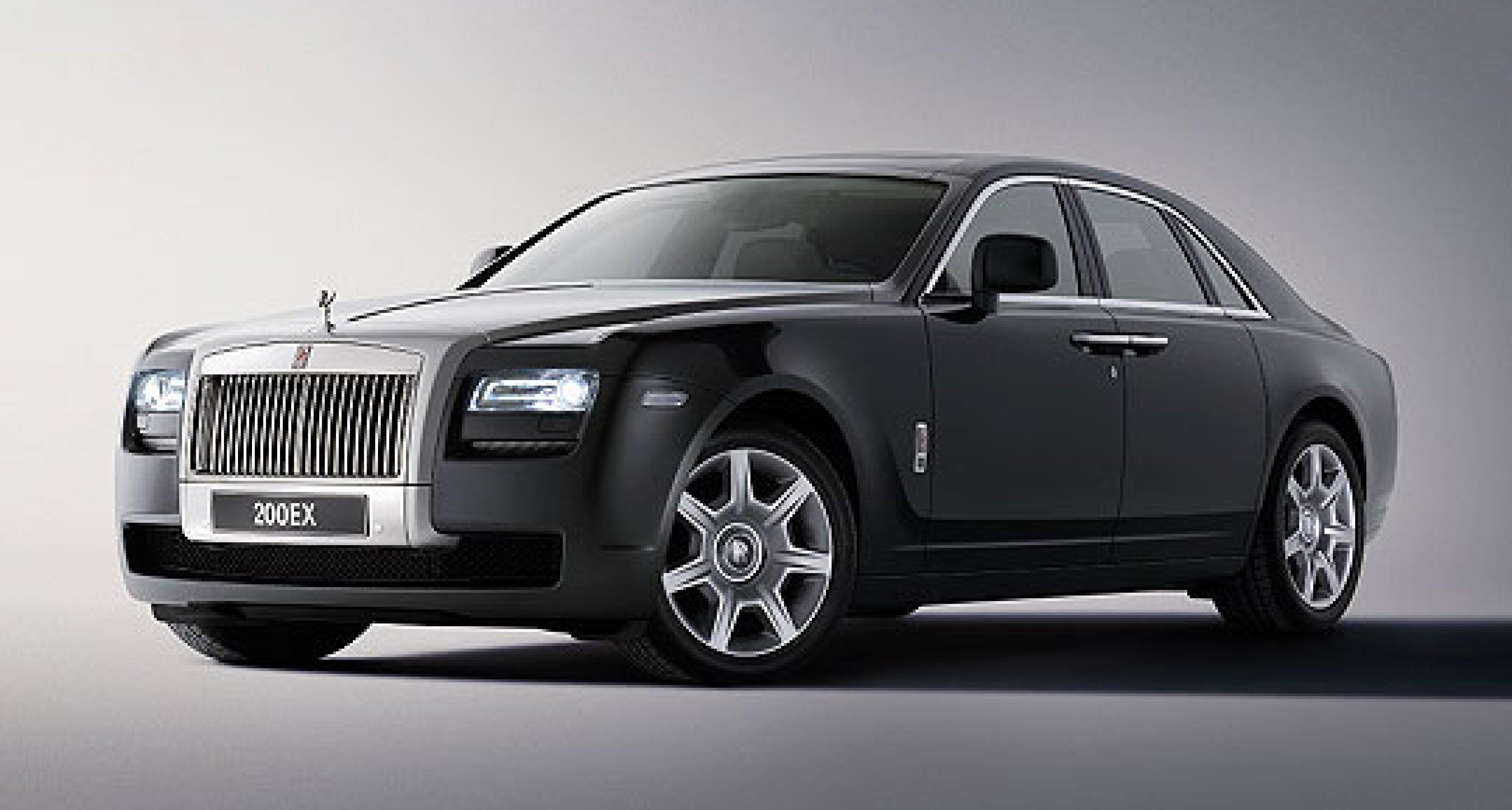 Rolls-Royce Names New Car