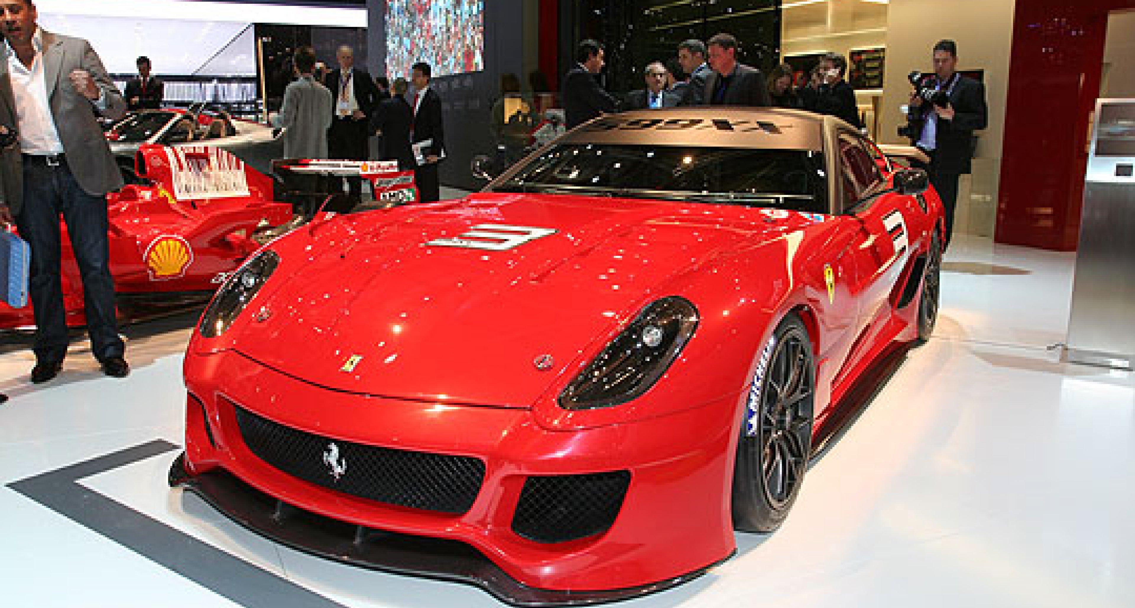 Classic Driver at the Geneva Show: Ferrari 599XX and HGTE