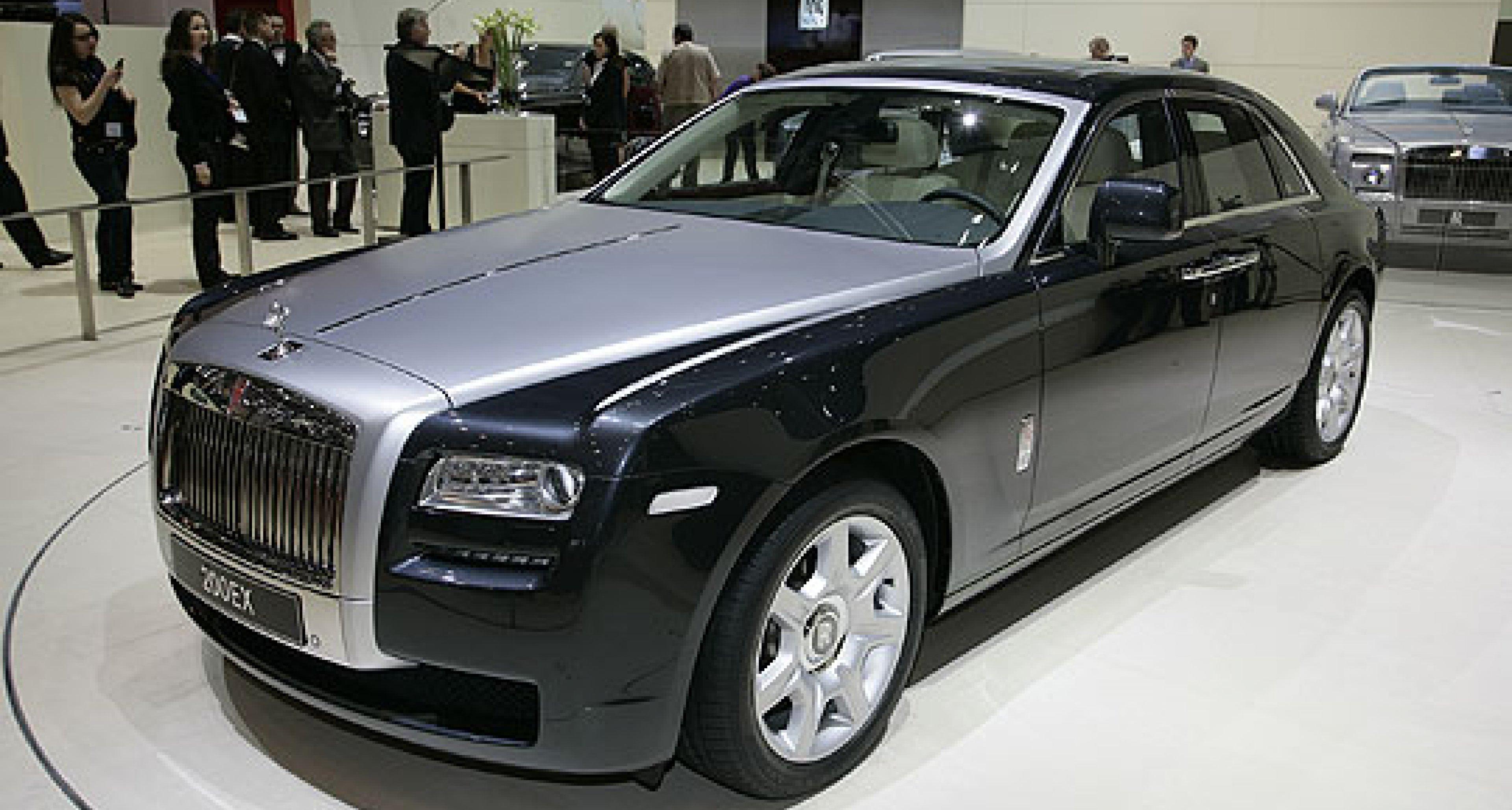 Classic Driver at the Geneva Show: Rolls-Royce 200EX