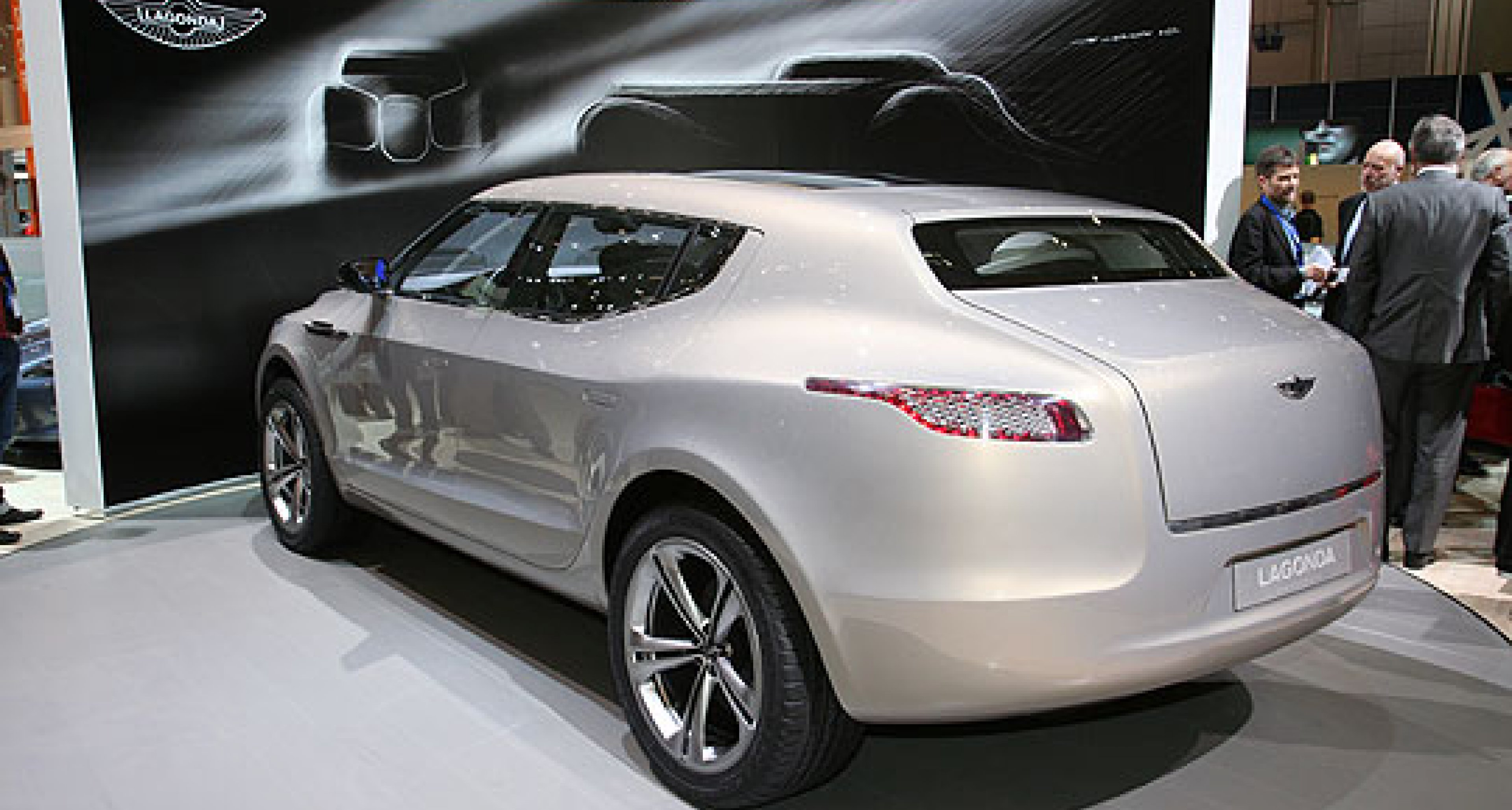 Classic Driver at the Geneva Show: Lagonda Concept