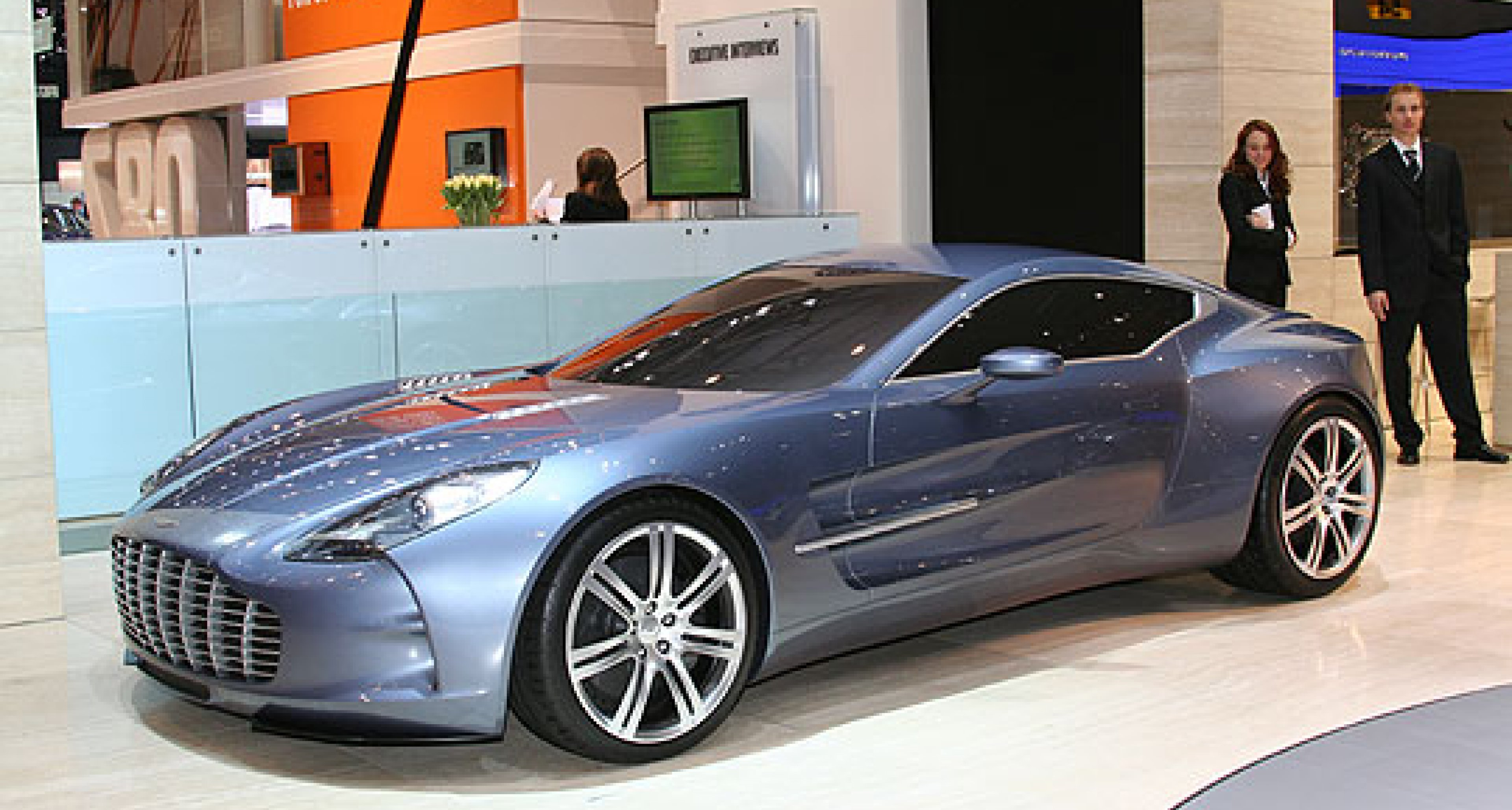 Classic Driver at the Geneva Show: Aston Martin One-77
