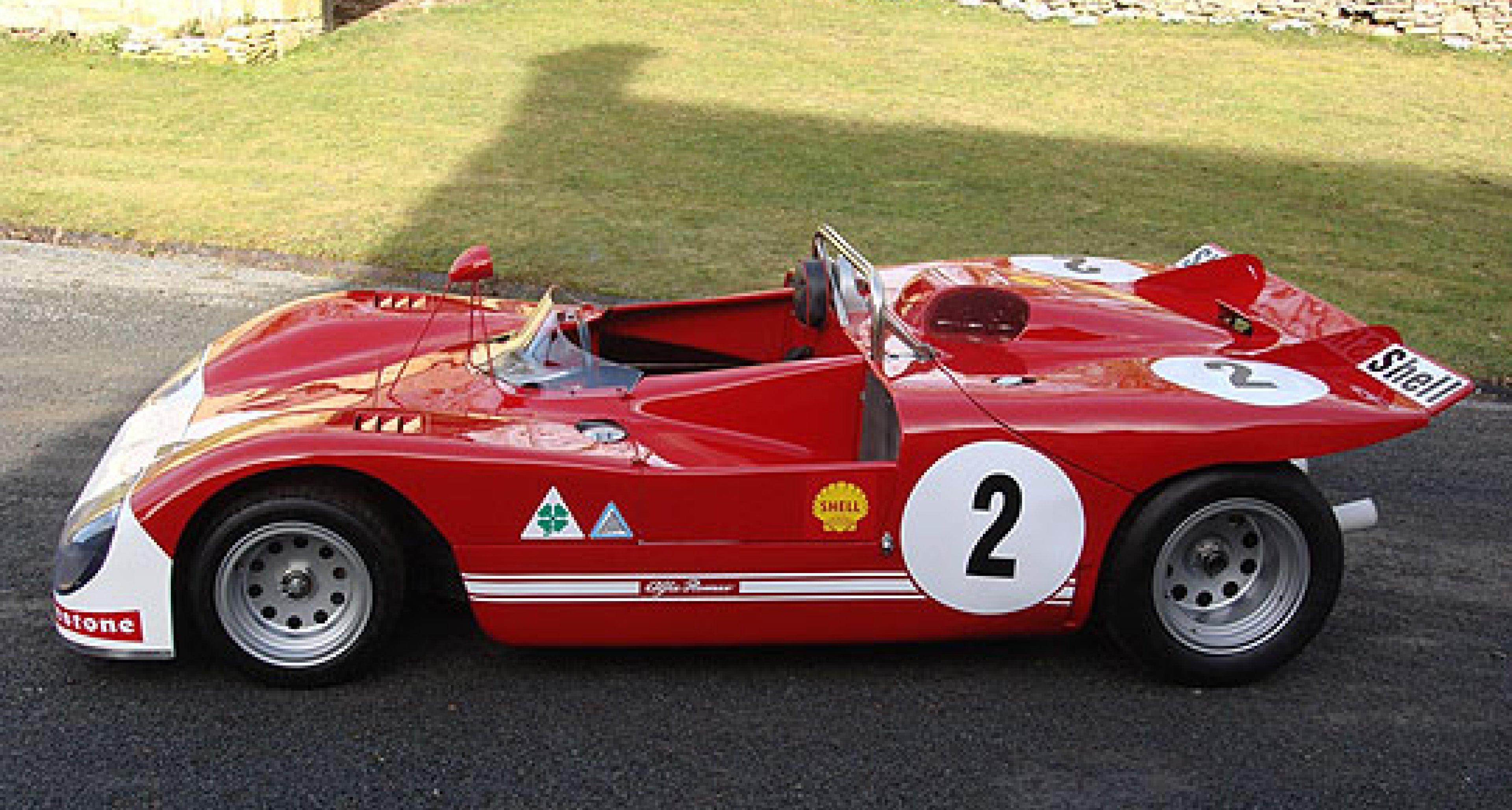 1971 Alfa Romeo Tipo 33/3:  ex-Targa Florio Car Comes to Market