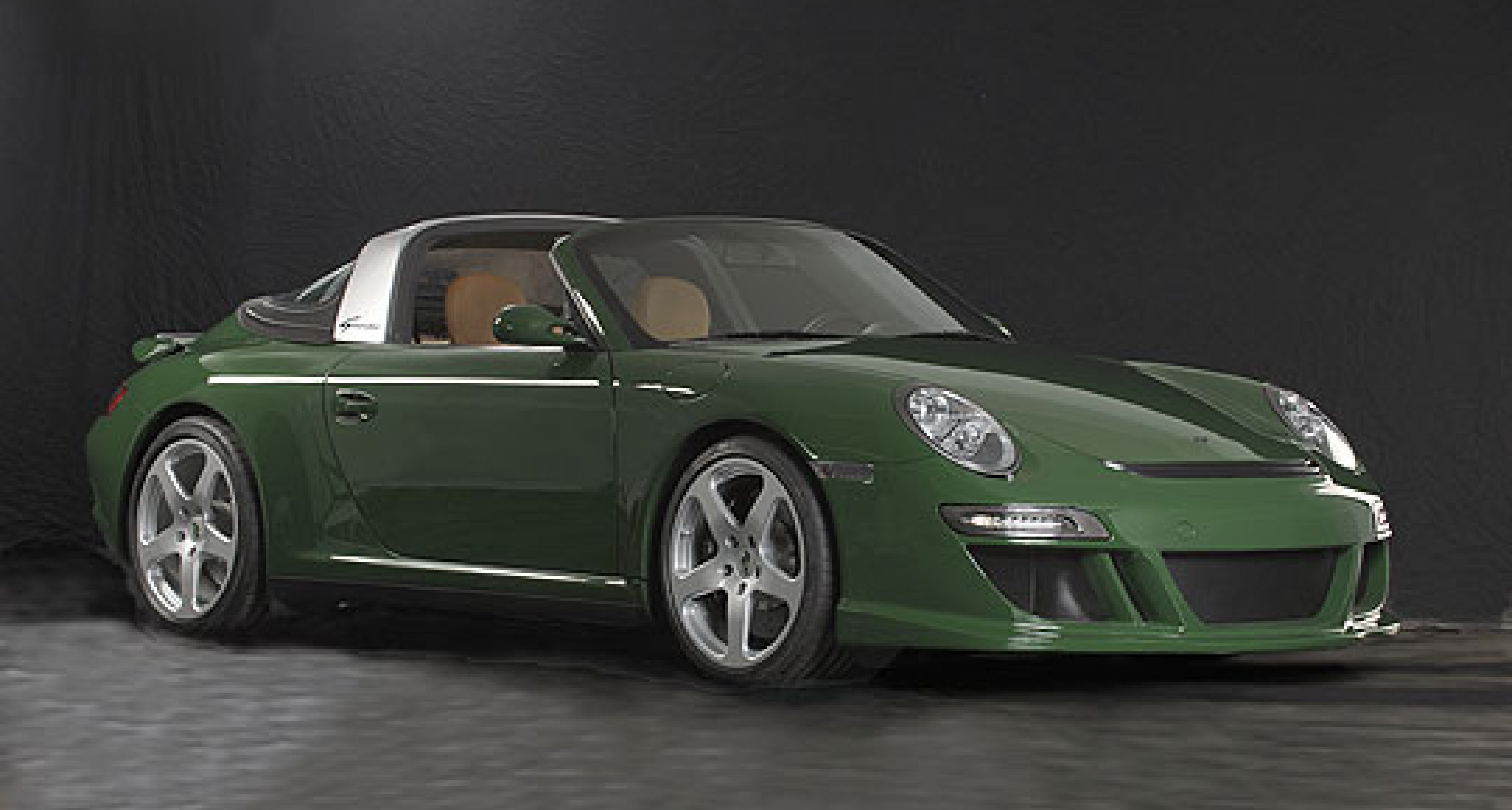 eRuf Greenster: the Electric Green 911