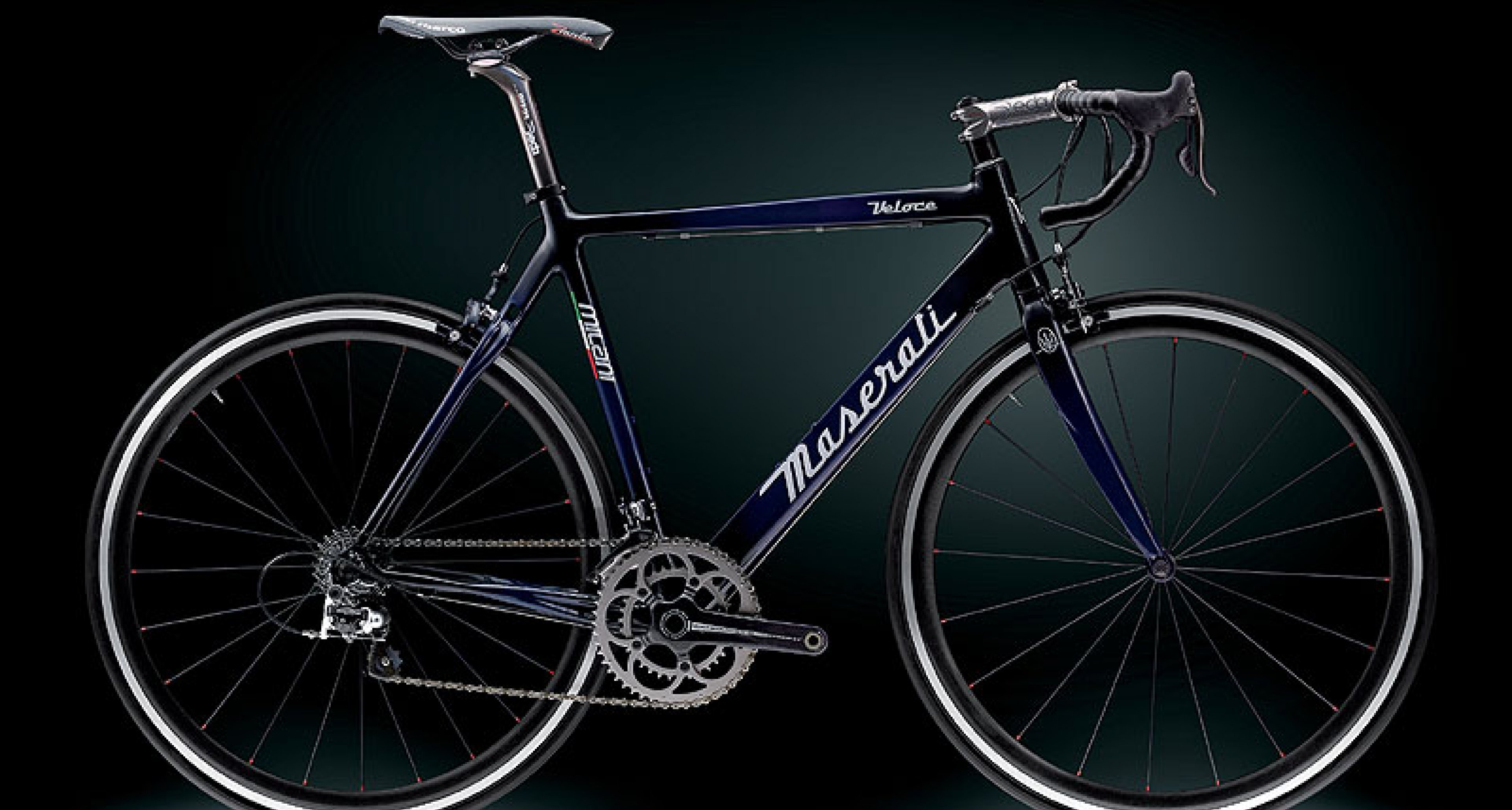 Milani for Maserati: Two New Carbonfibre Bicycles