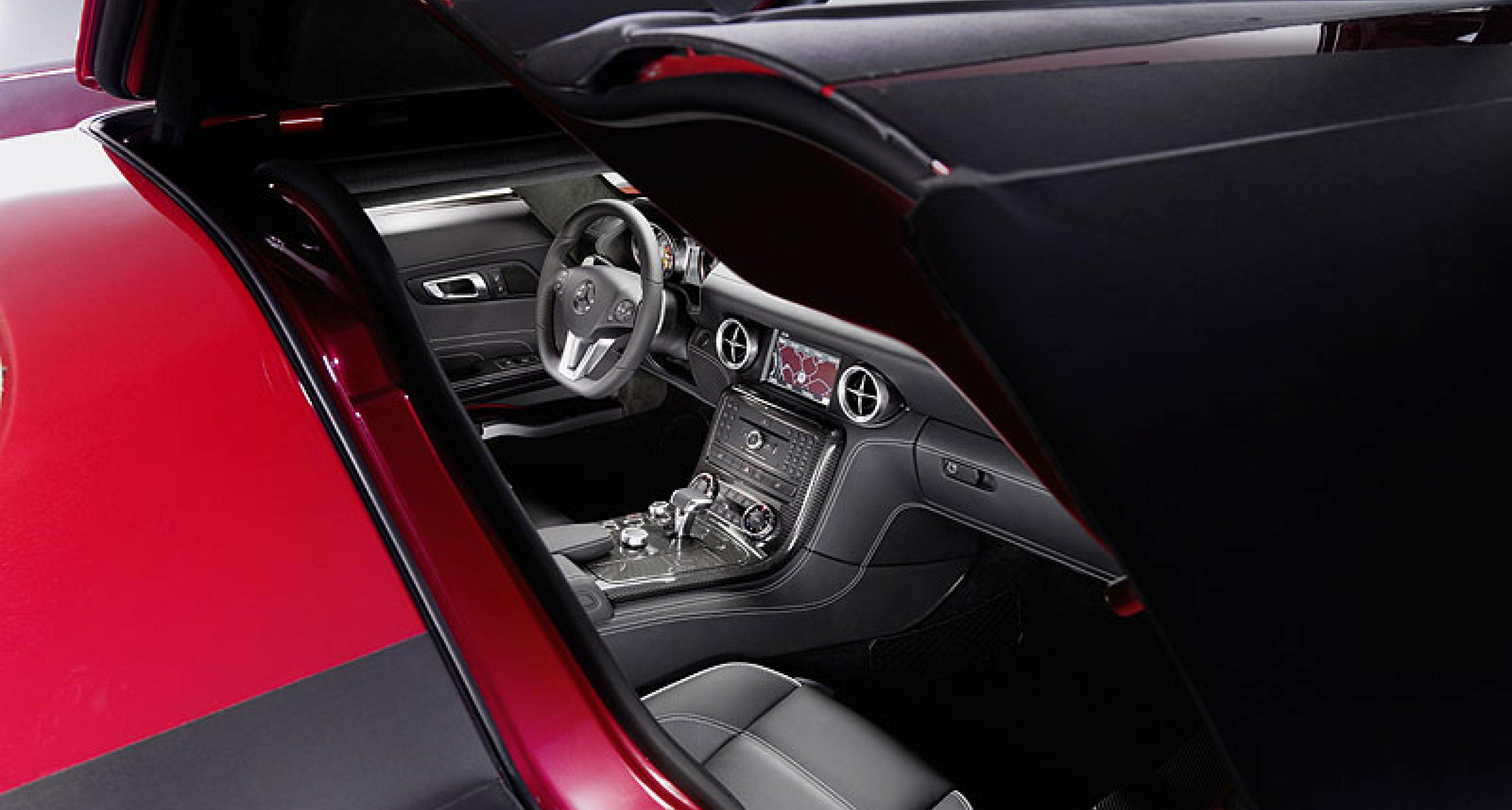 Mercedes-Benz SLS AMG: Das Interieur   Classic Driver Magazine