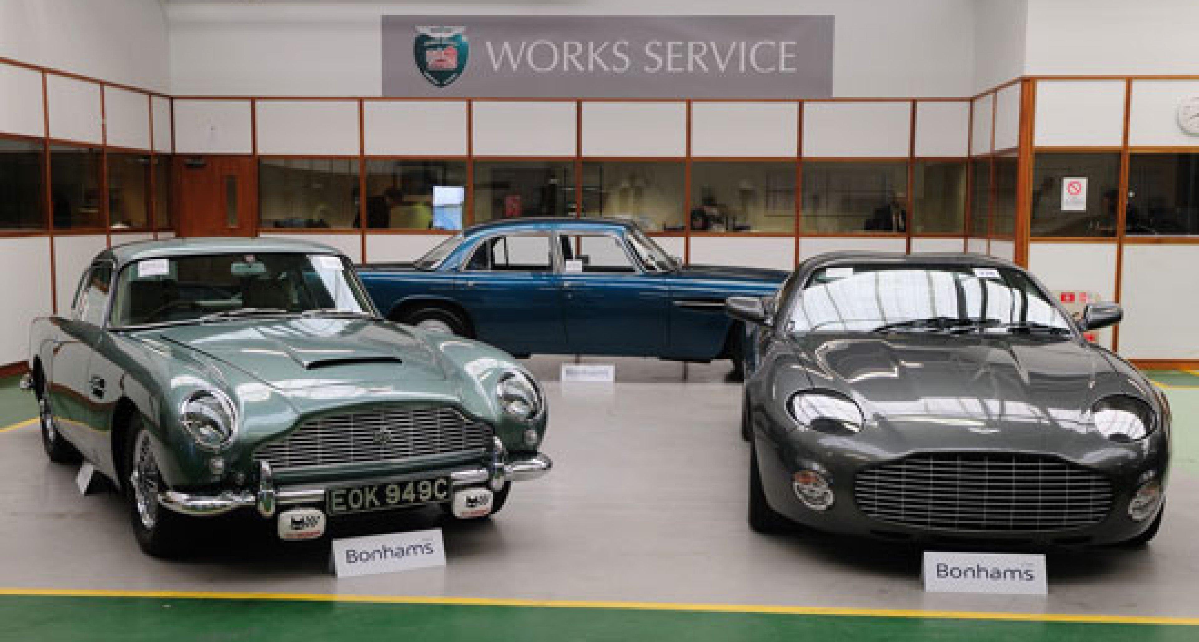 Bonhams Aston Martin Sale at Newport Pagnell -  9th May 2009 - Review