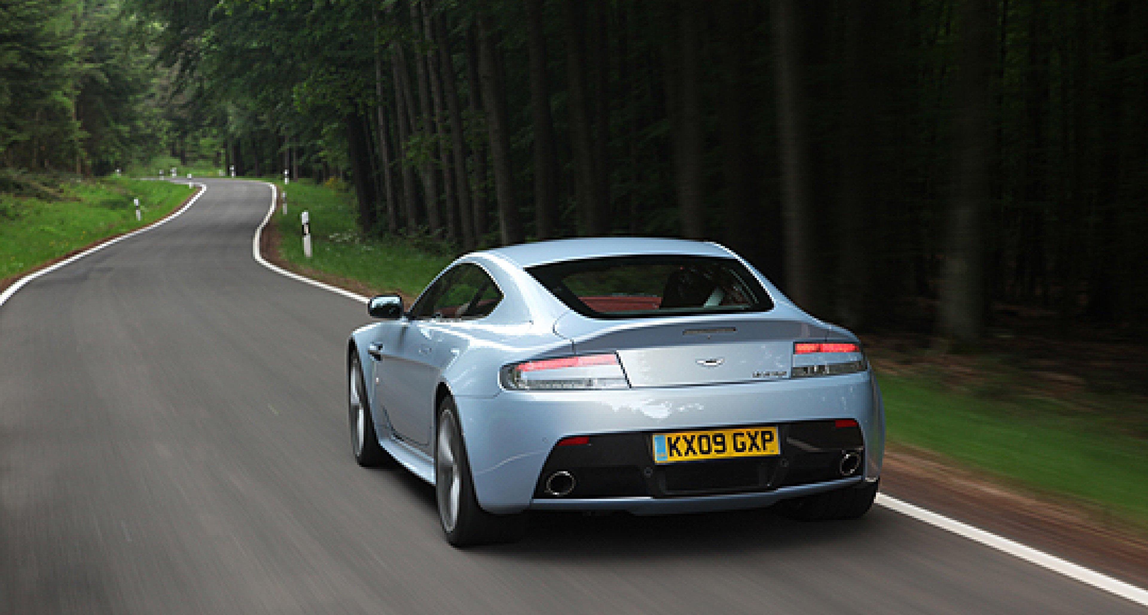 Driven: Aston Martin V12 Vantage