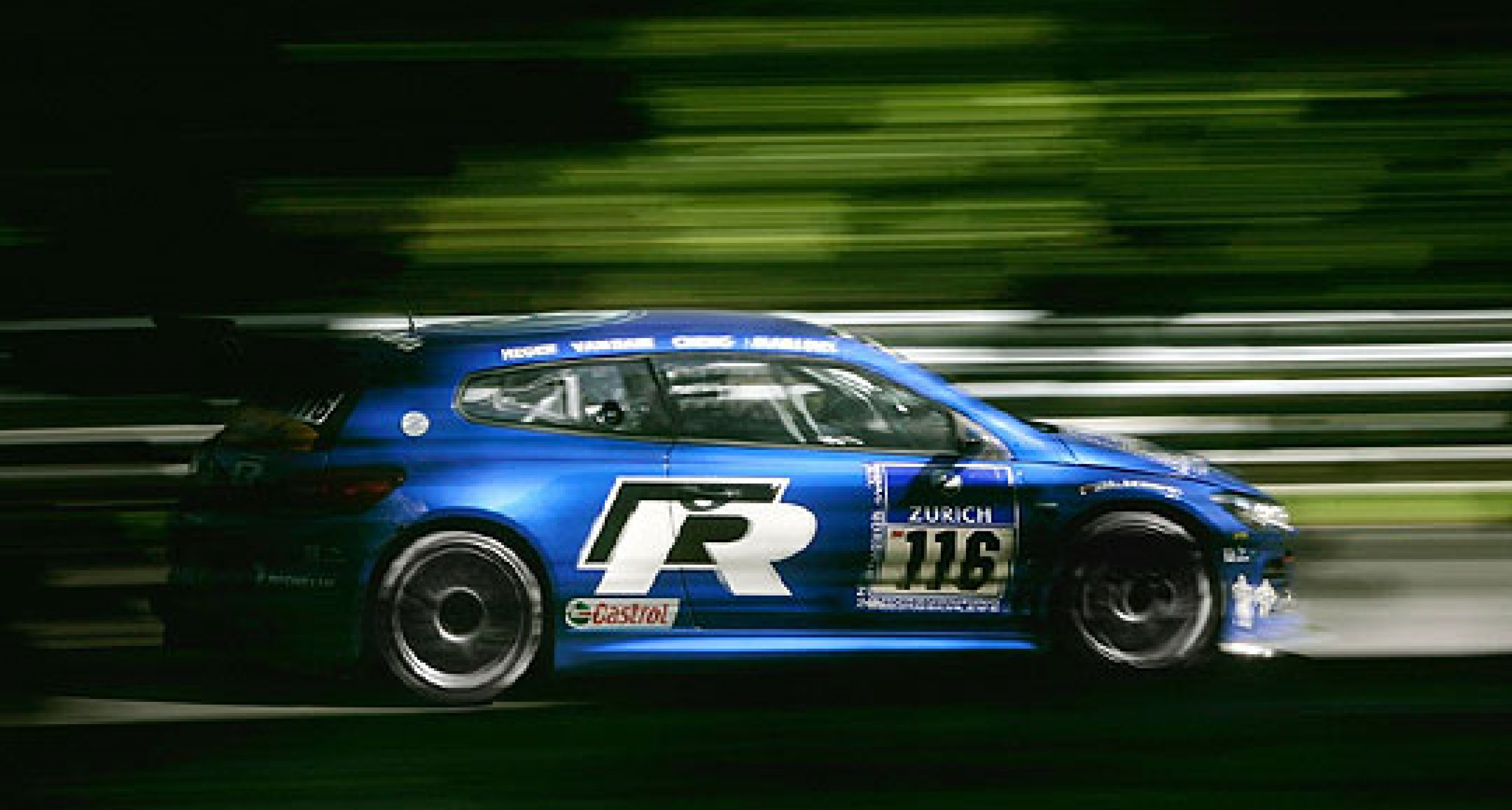 Volkswagen Scirocco R: Successful Race Debut at the 'Ring